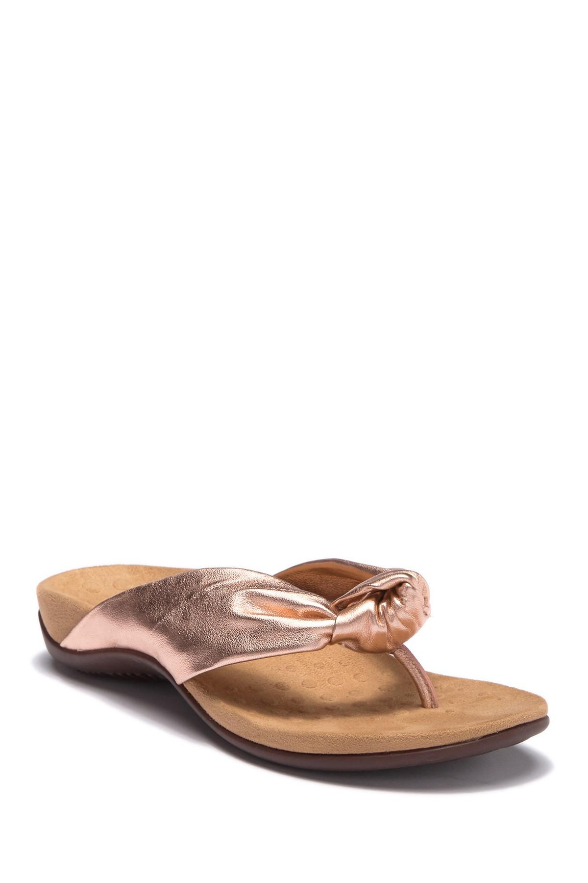 9310ffa71eb Vionic. Women s Pippa Twisted Knot Sandal - Wide Width Available