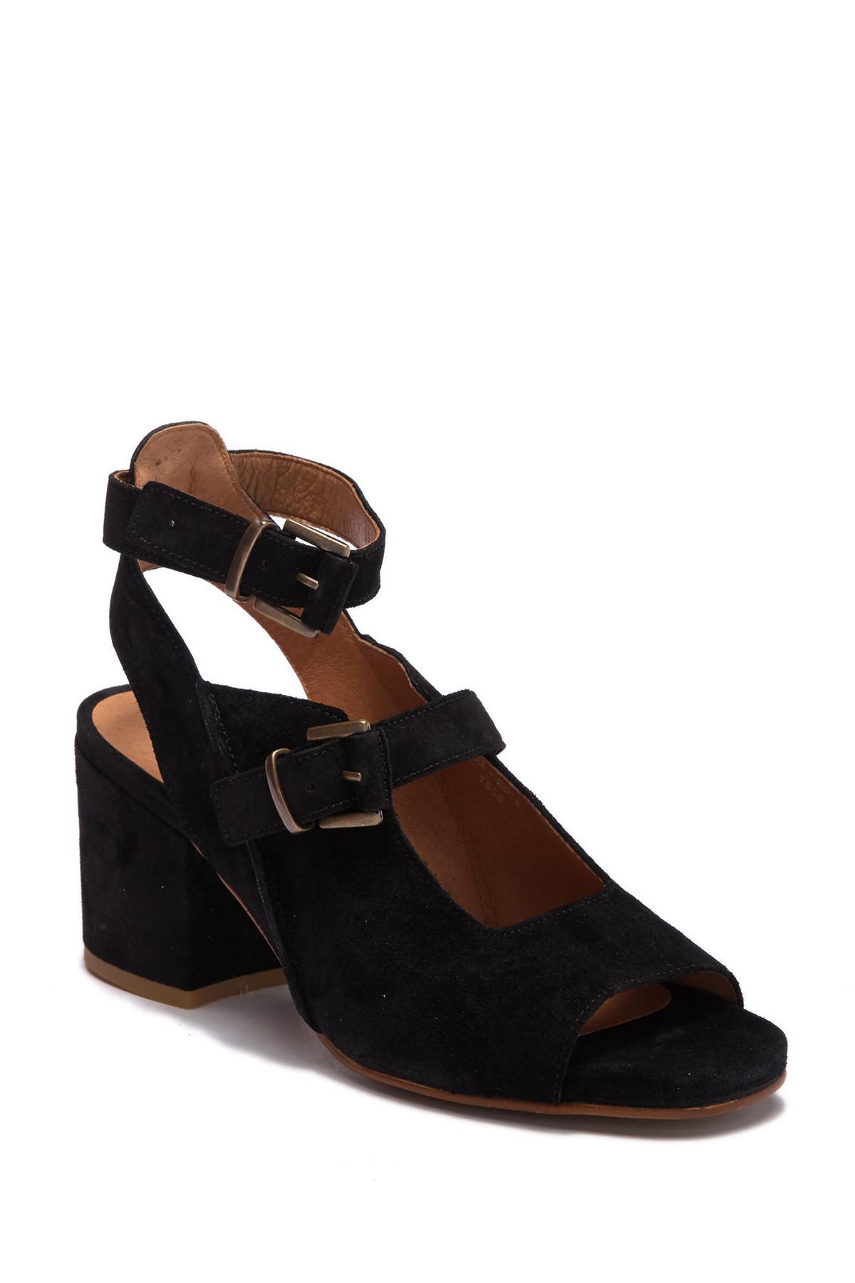 567bd4c1402 H by Hudson. Women s Black Rona Suede Block Heel Sandal.  270  100 From Nordstrom  Rack
