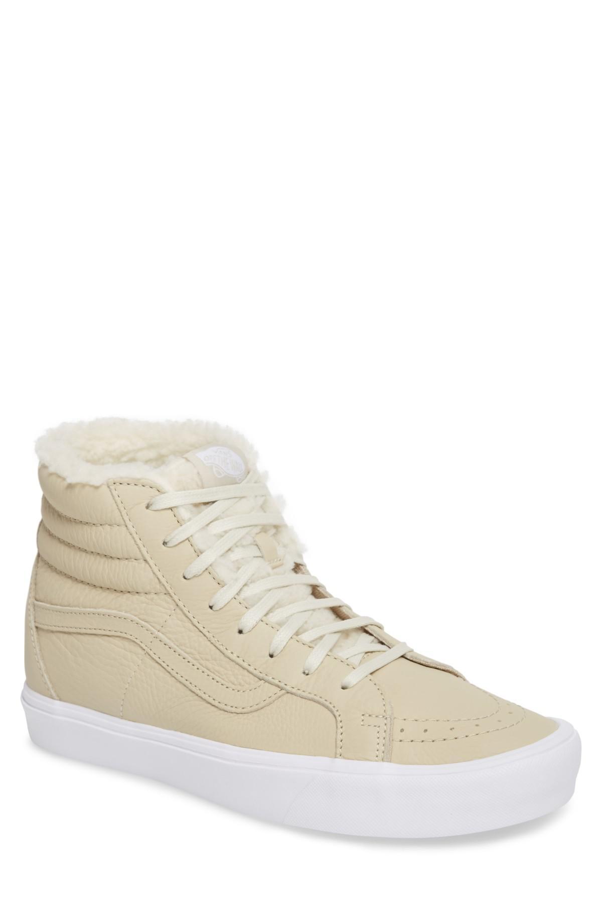 Lyst - Vans Sk8-hi Reissue Dx Lite Sneaker With Faux-fur Lining (men ... 6ad9d416d