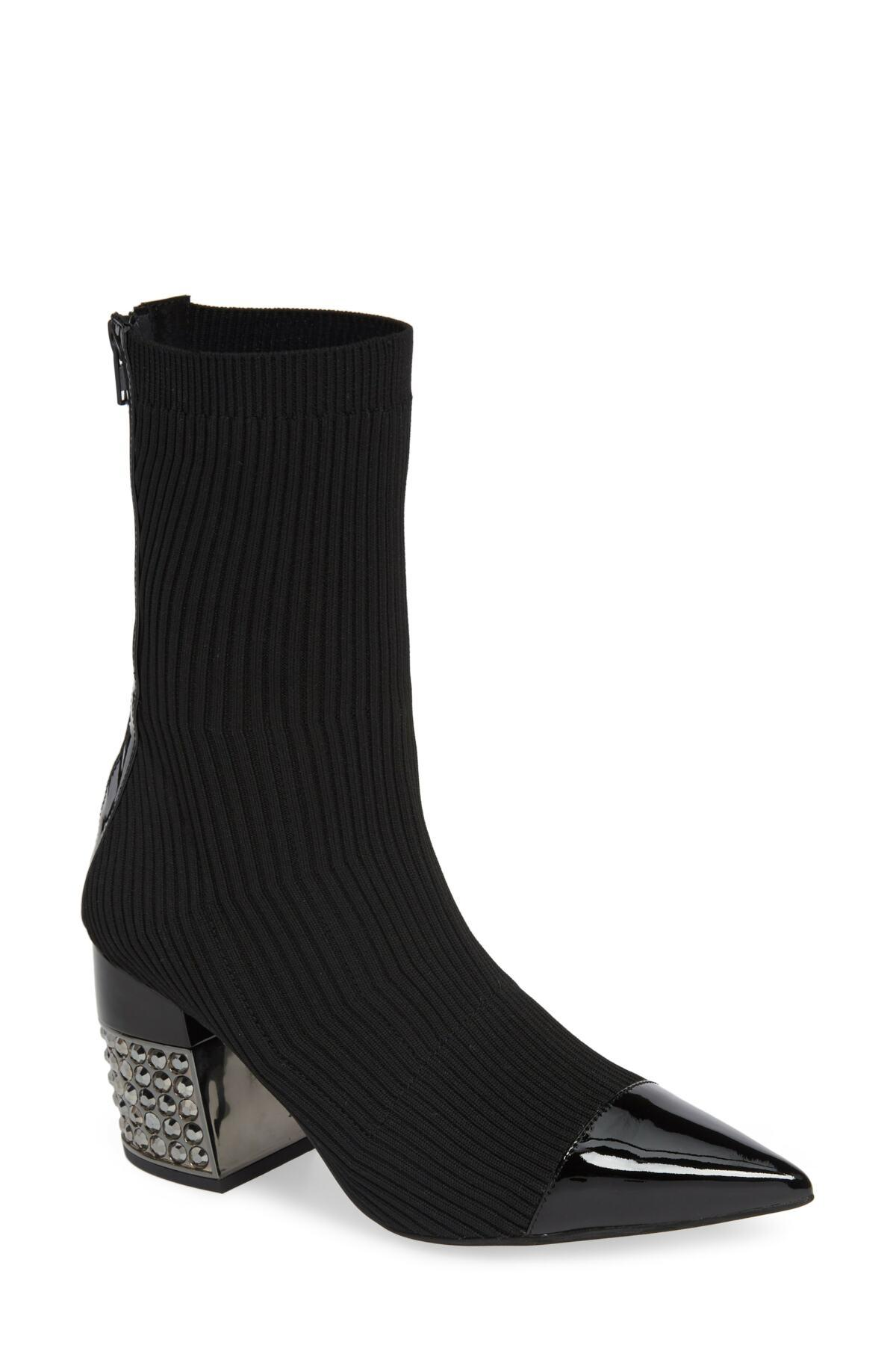 017c442ed74 Lyst - Jeffrey Campbell Fulfill Bootie (women) in Black - Save 61%