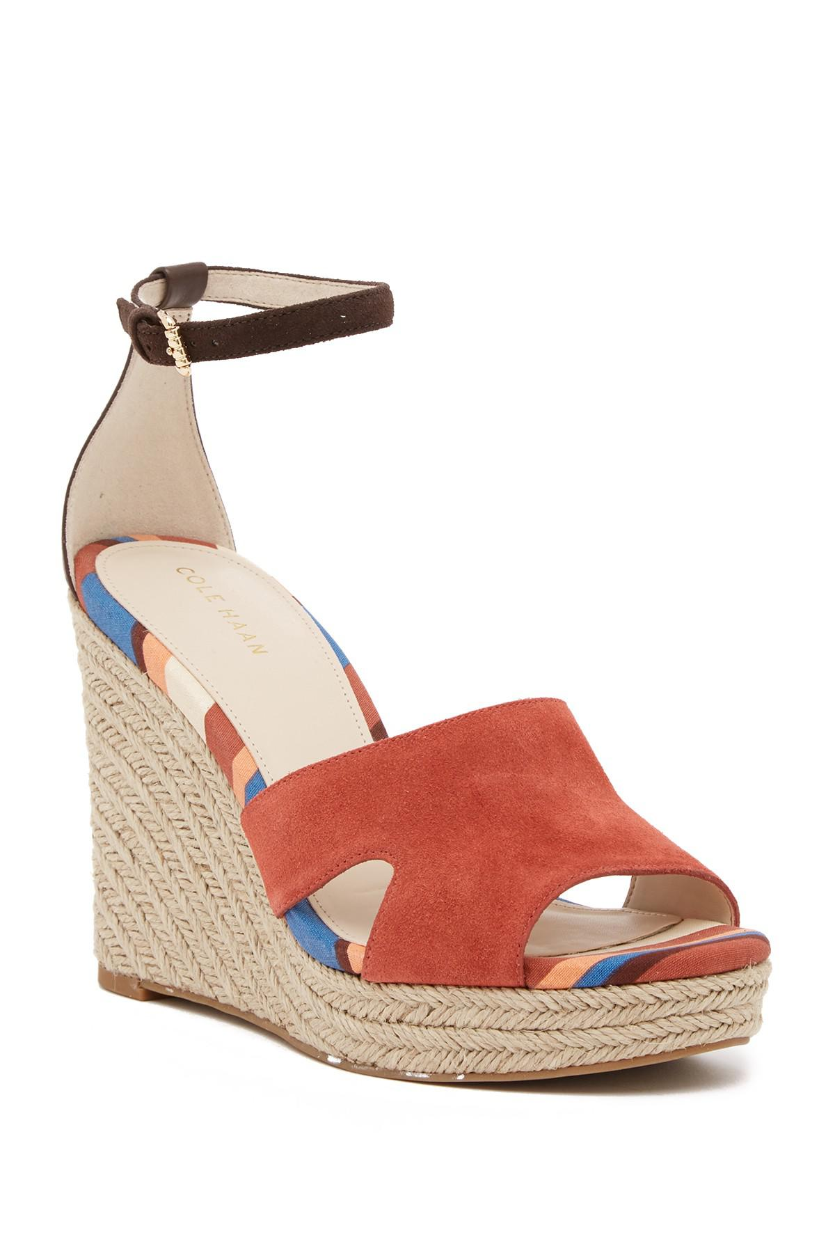 Cole Haan Giselle High Espadrille Wedge II Sandal (Women's)