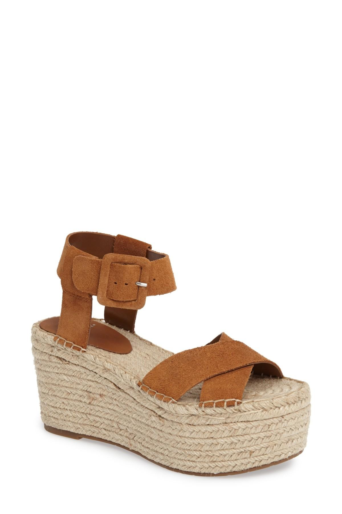 969d7700a12 Lyst - Marc Fisher  randall  Platform Wedge (women) in Brown