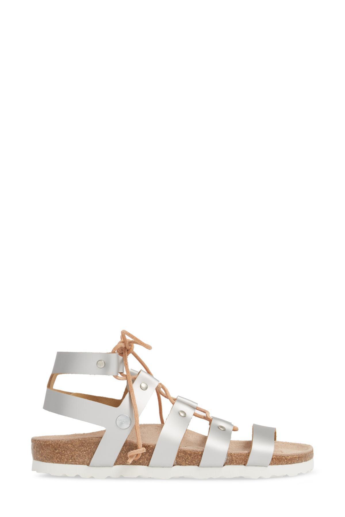5bd28230d21 Birkenstock - Metallic Papillio By Cleo Gladiator Sandal (women) - Lyst.  View fullscreen