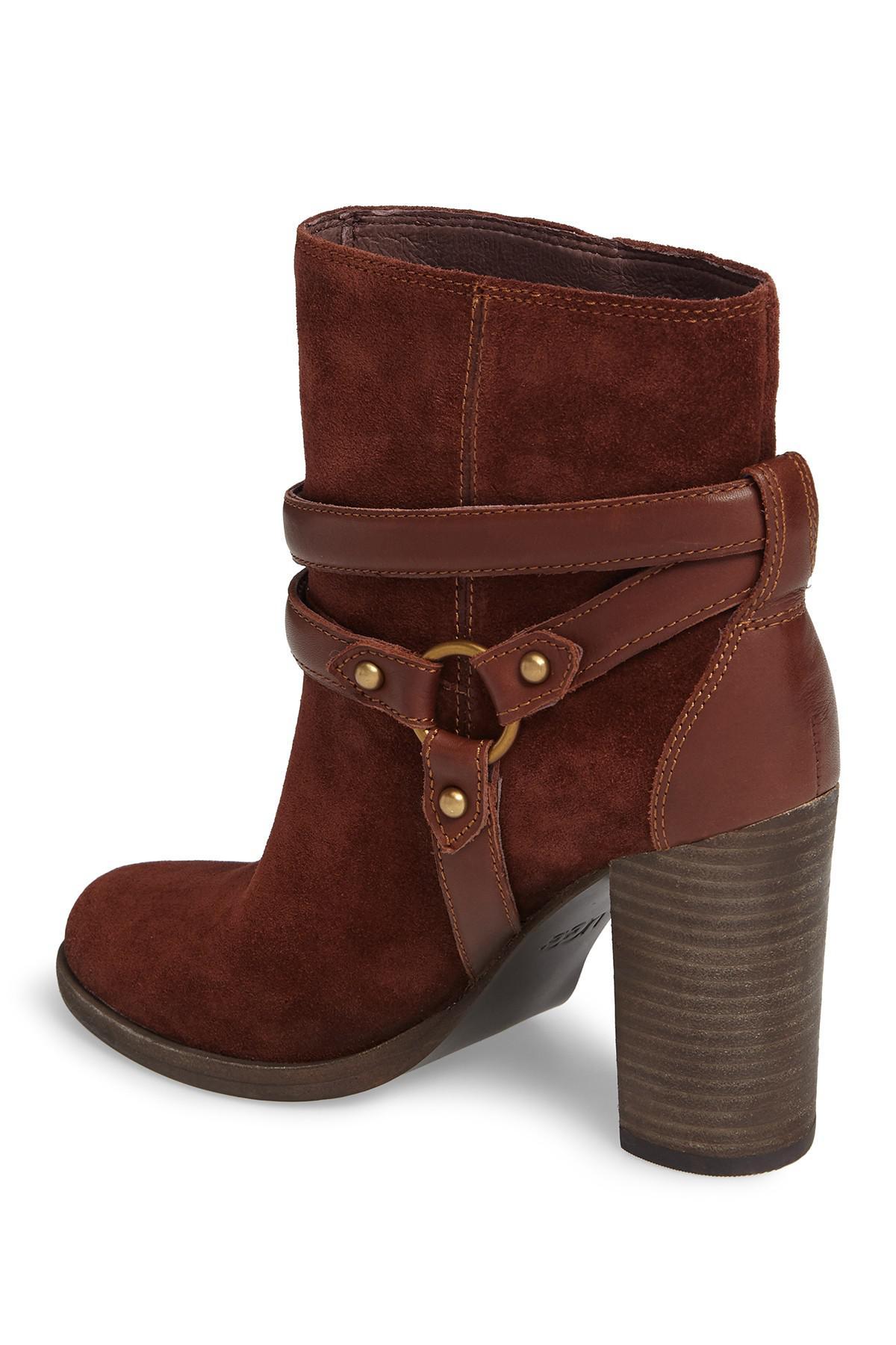 e1d99961970 Ugg - Brown Dandridge Suede Harness Boot - Lyst