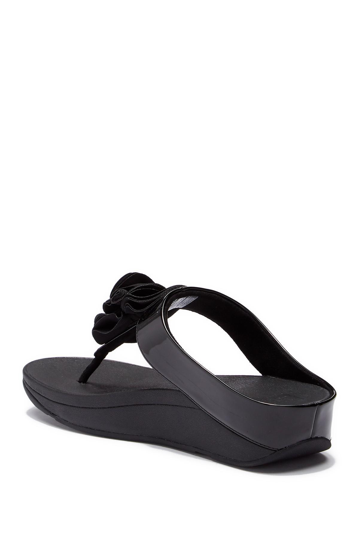 1902c49a078da0 Lyst - Fitflop (tm) Florrie Sandal in Black
