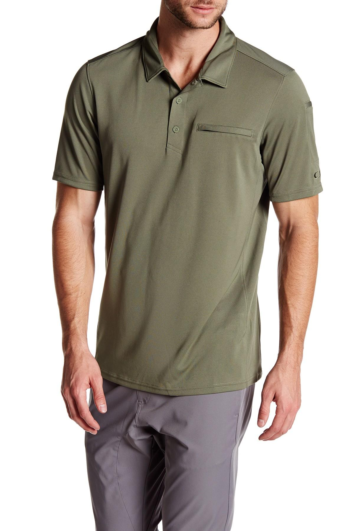 5227941e78 Lyst - Oakley Transition Polo Shirt in Green for Men
