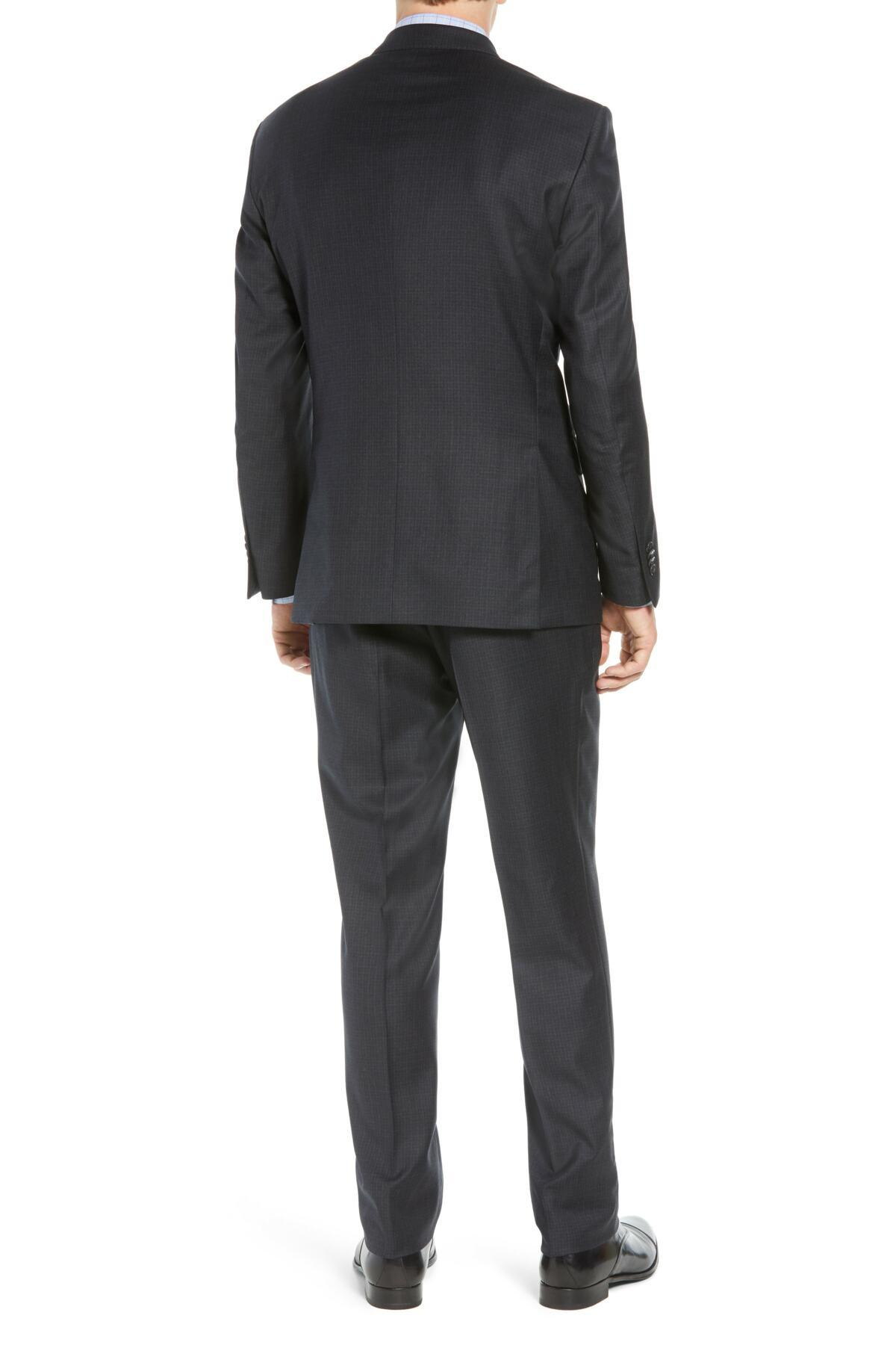 d85a421f64bcbf ... Flynn Classic Fit Check Wool Suit for Men - Lyst. View fullscreen