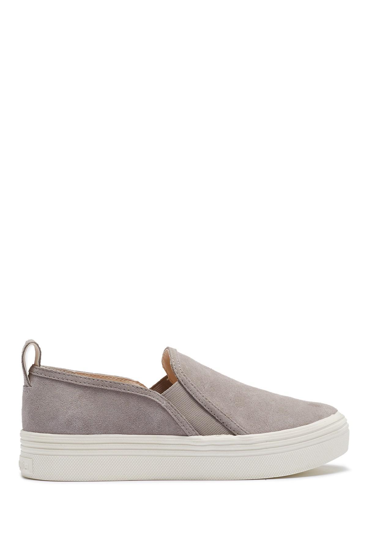 97cc4bdb5f57 Lyst - Dolce Vita Tannis Double Gored Platform Sneaker in Gray