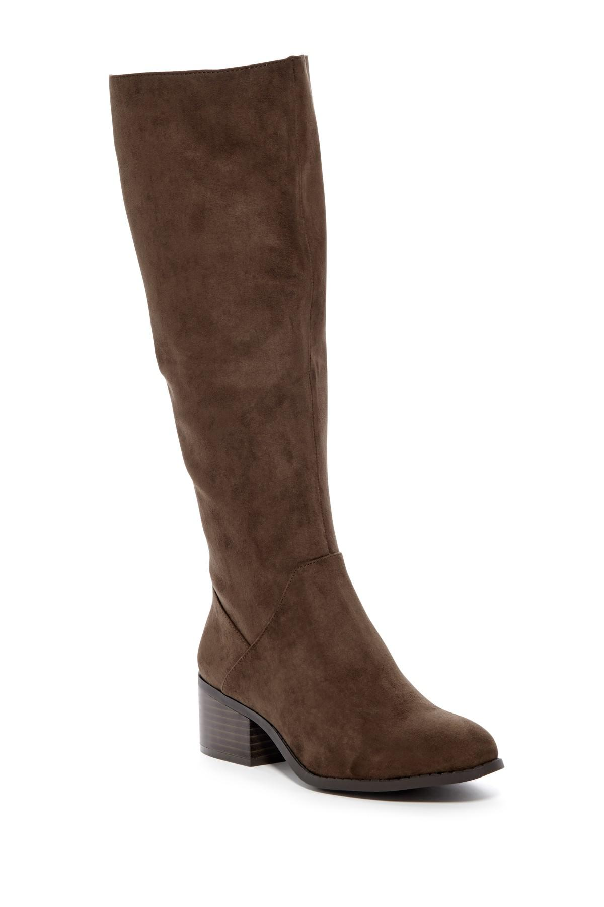 05f906a4732 Lyst - Madden Girl Jagg Tall Boot in Brown