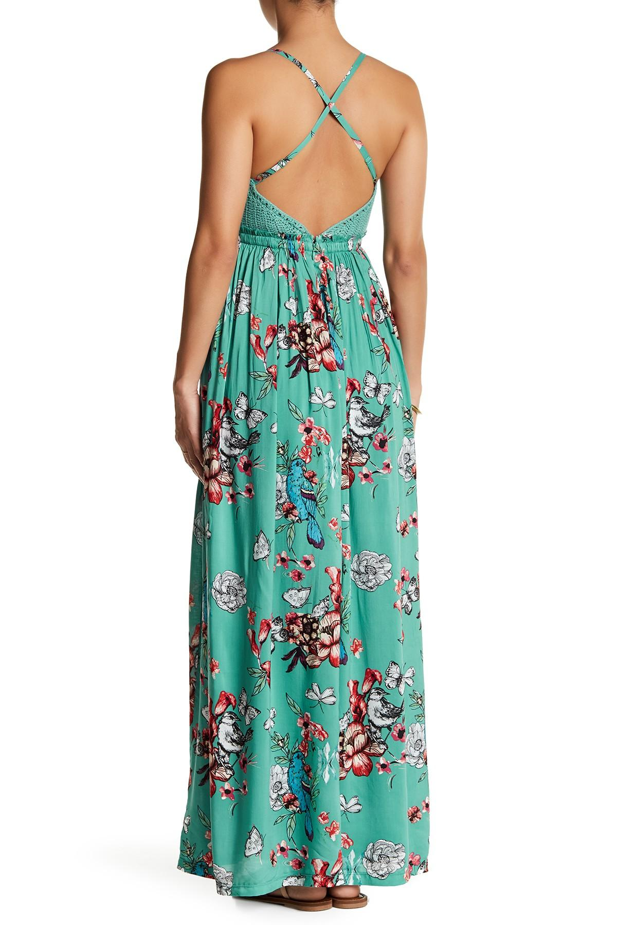 Lyst Jessica Simpson Paley Maxi Dress