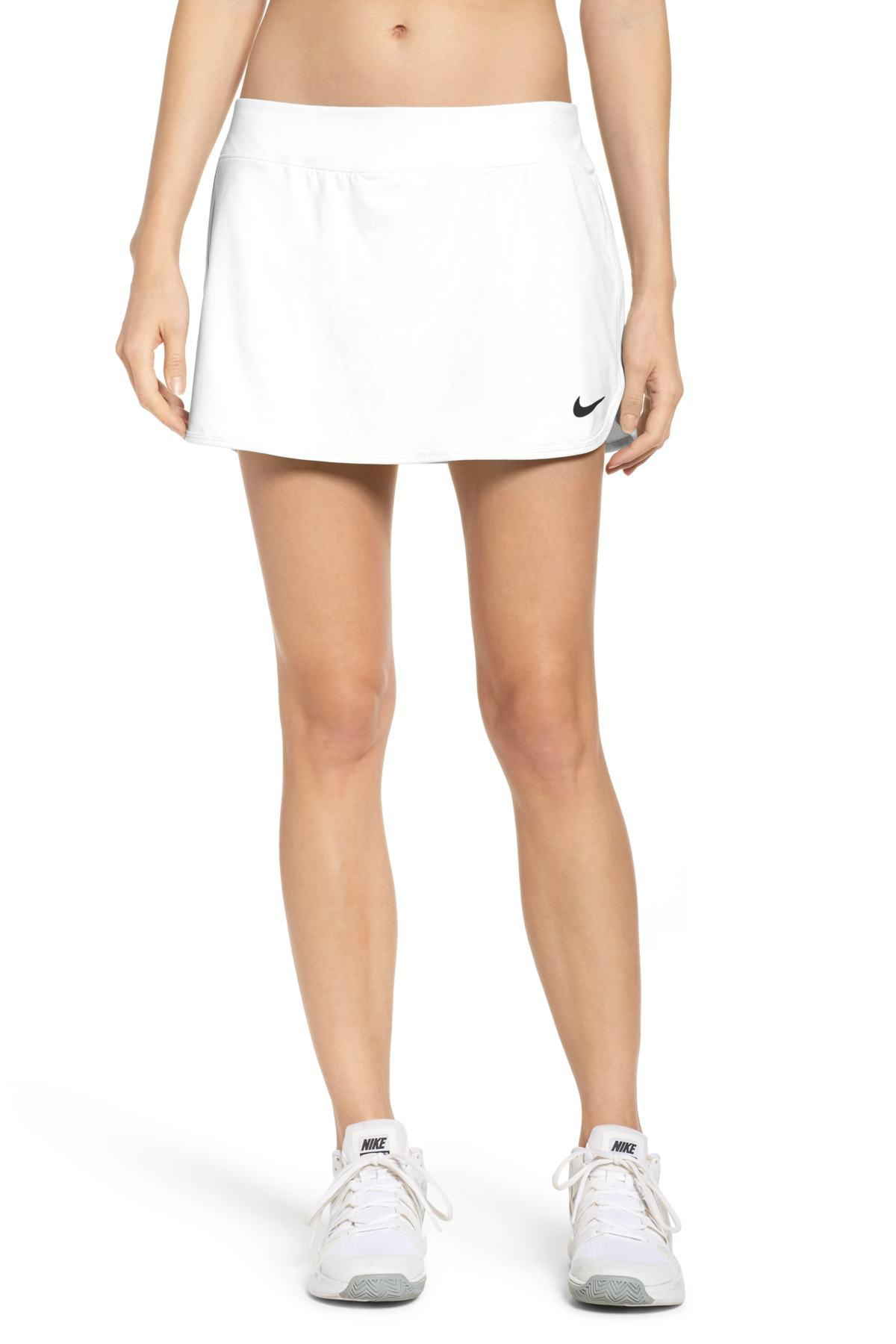 57d63f61d Nike Court Dry Skirt Stretch (teal Tint/white/white/teal Tint ...