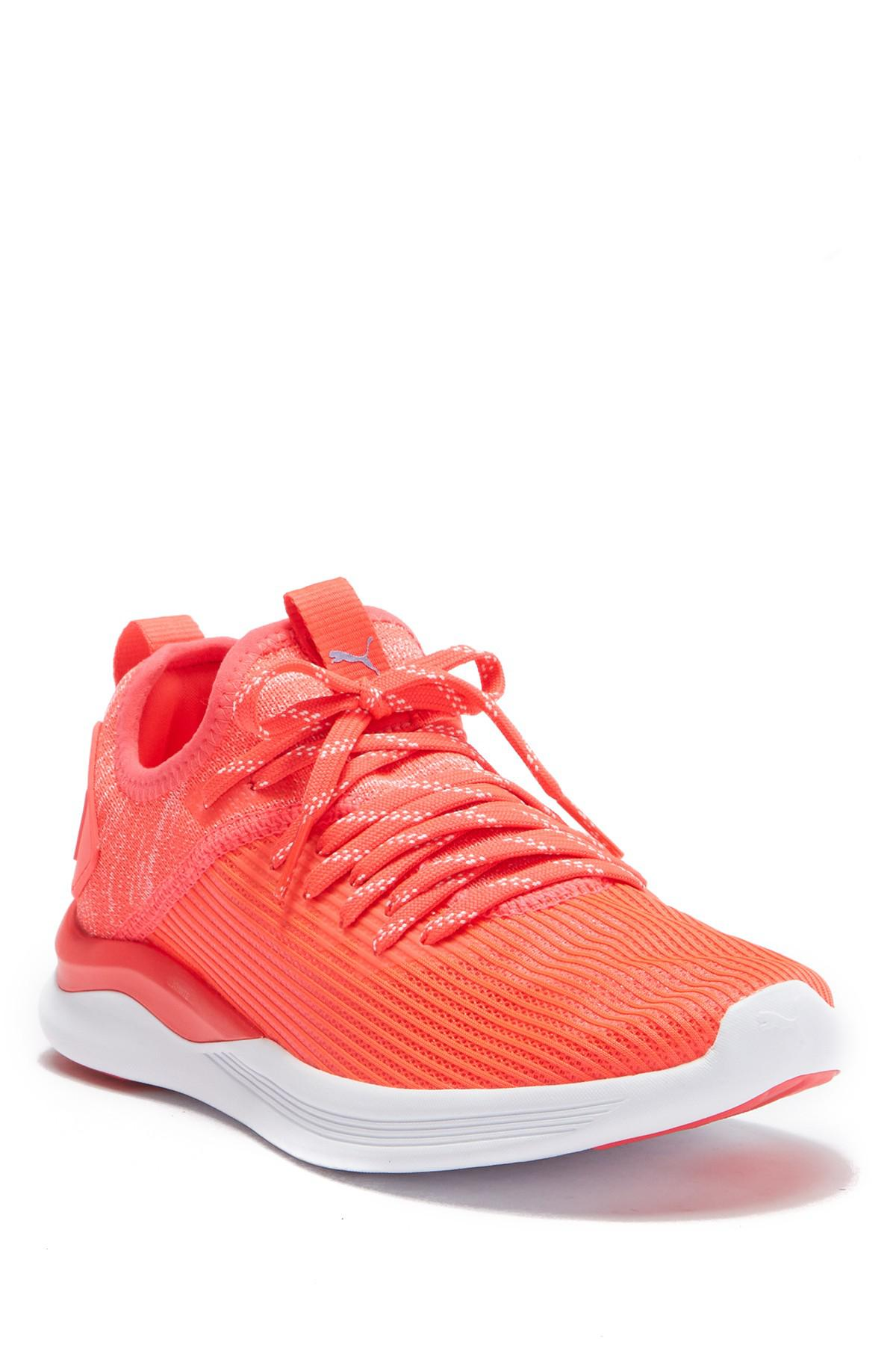 Lyst - PUMA Ignite Flash Evoknit Training Sneaker in Pink 9ccbba9bf