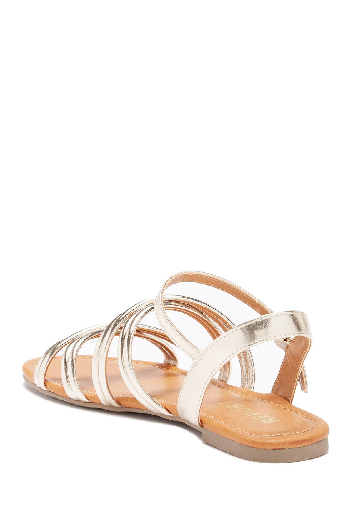 Report Gal Metallic Sandal nbTSkp