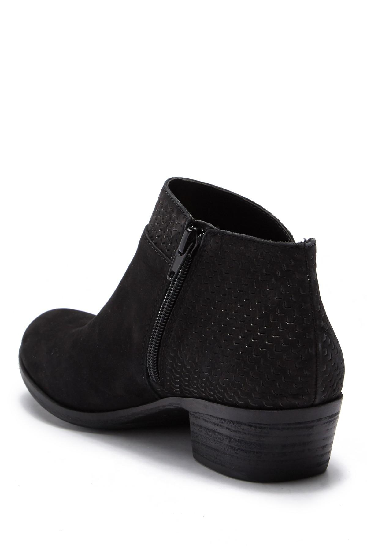 9631b9ae4fc30 Lucky Brand - Black Brintly Leather Ankle Bootie - Lyst. View fullscreen