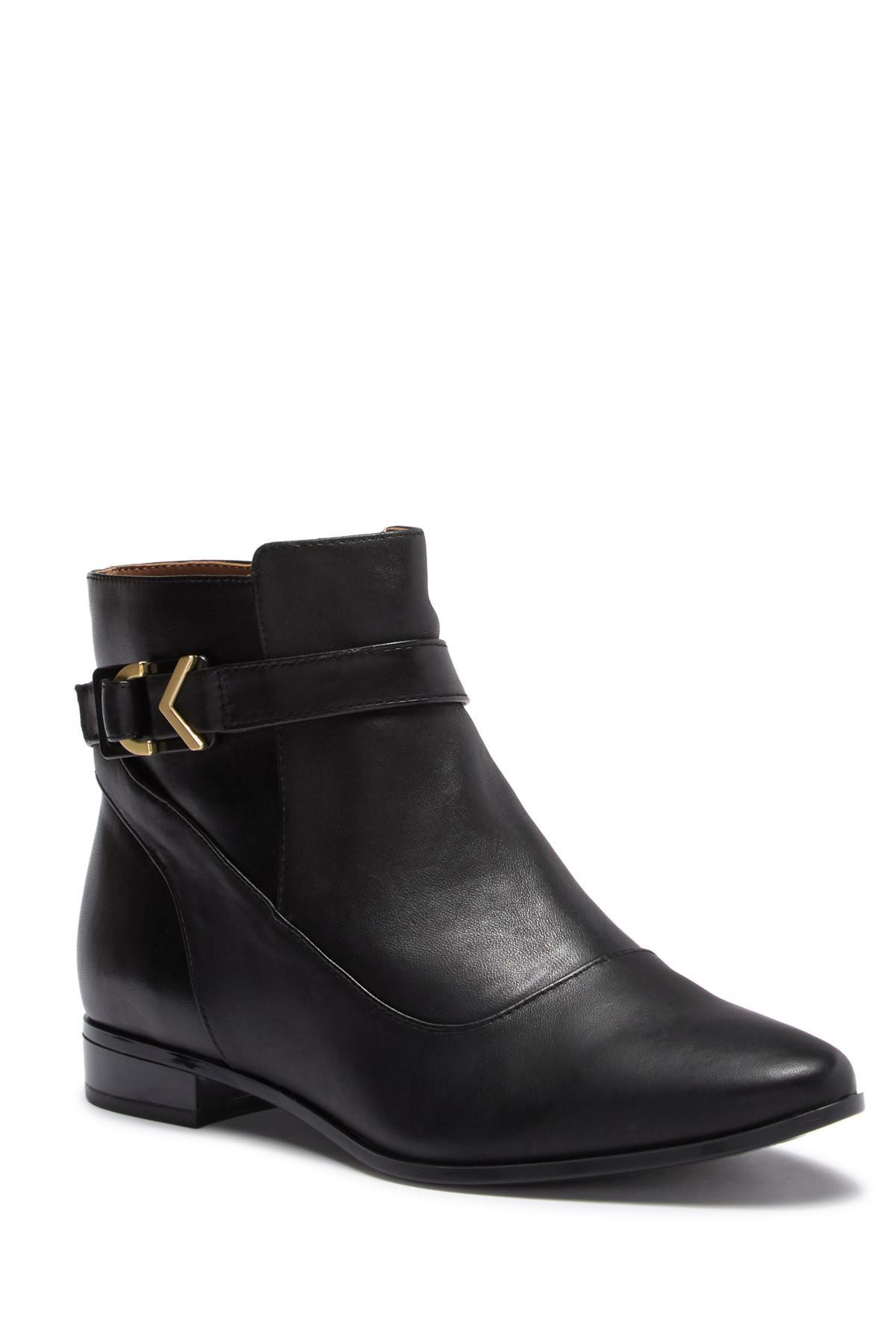 8ac10109cfff3 Lyst - Calvin Klein Farryn Bootie (women) in Black
