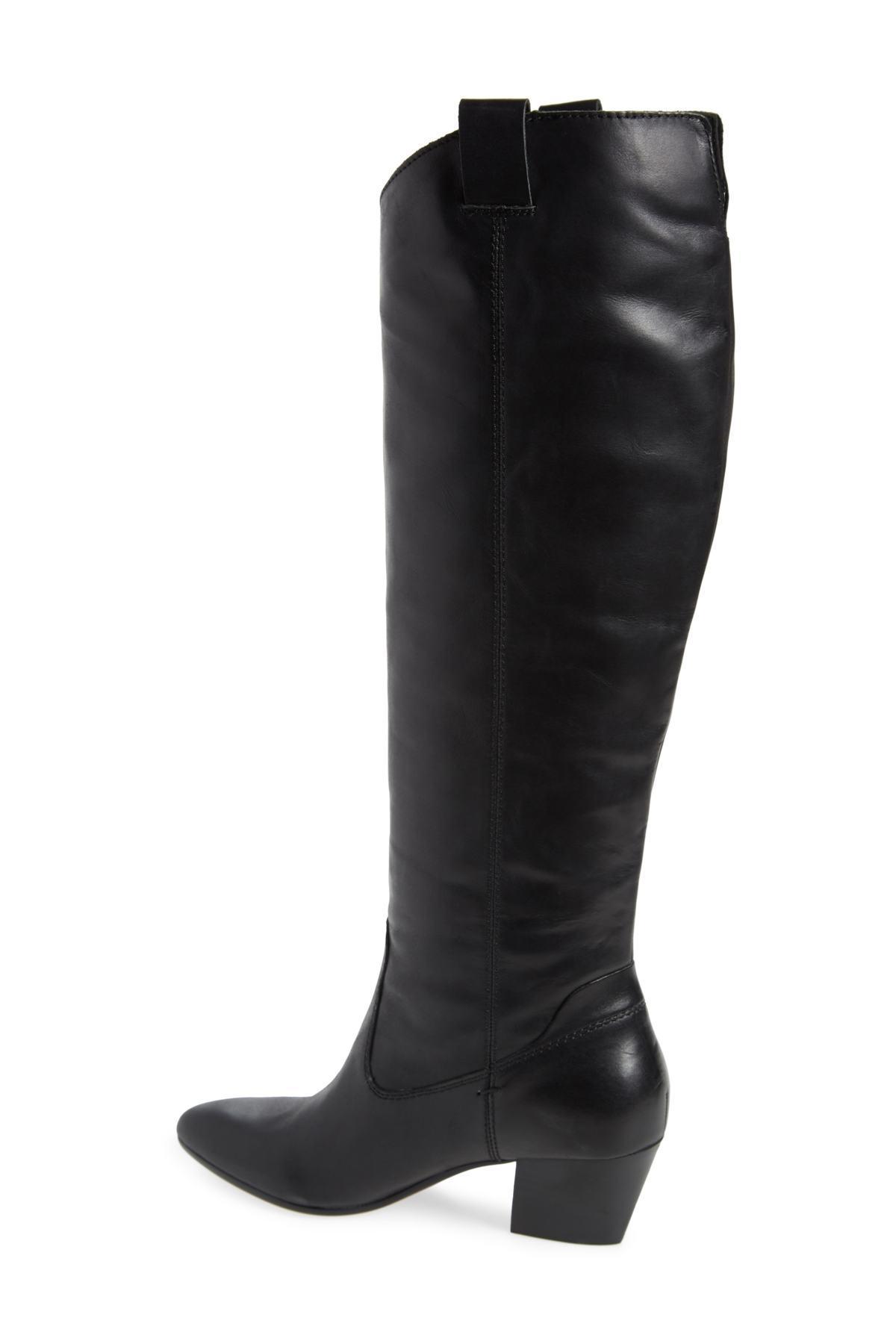 a79feed16eb Dolce Vita - Black Hinley Knee High Boot (women) - Lyst. View fullscreen