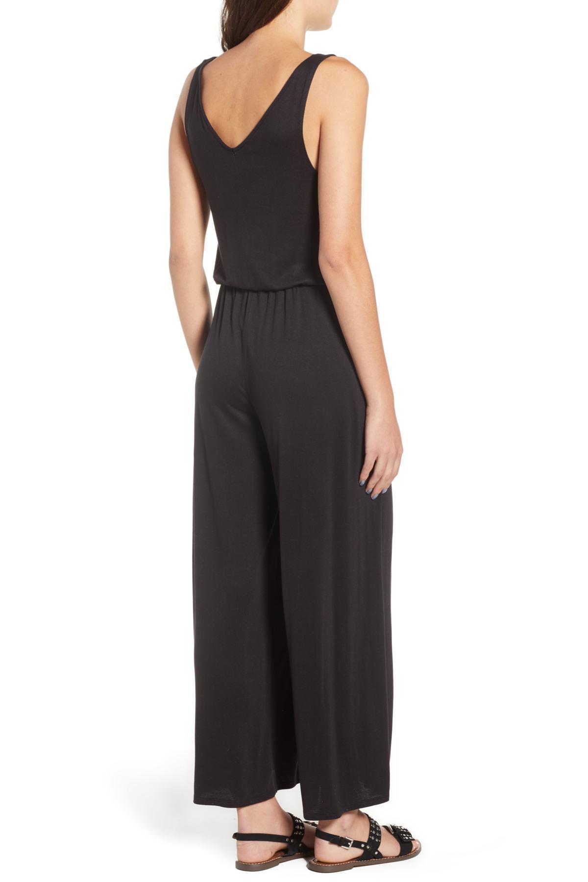 363de30d20ca Lyst - BP. Split Leg Jumpsuit (regular   Plus Size) in Black