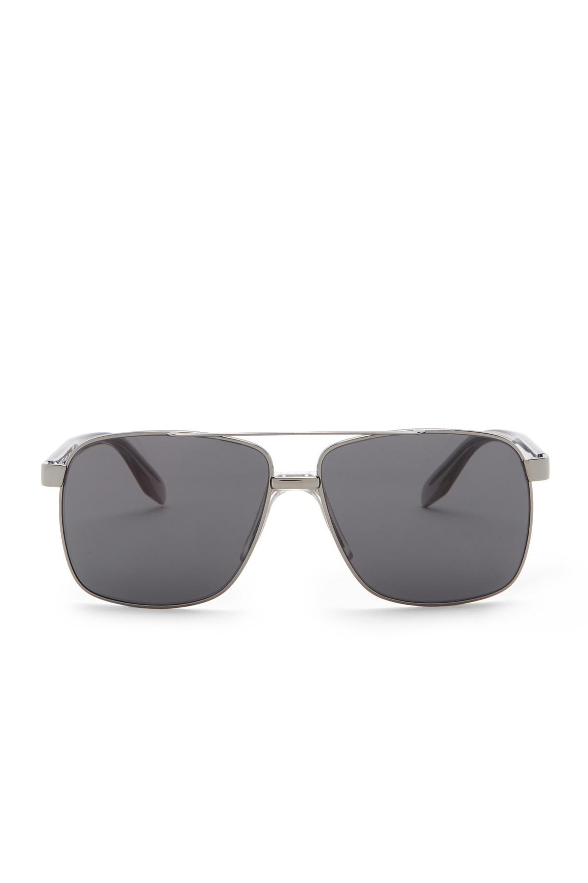 eb750a80fbeb Versace - Gray 59mm Square Sunglasses for Men - Lyst. View fullscreen