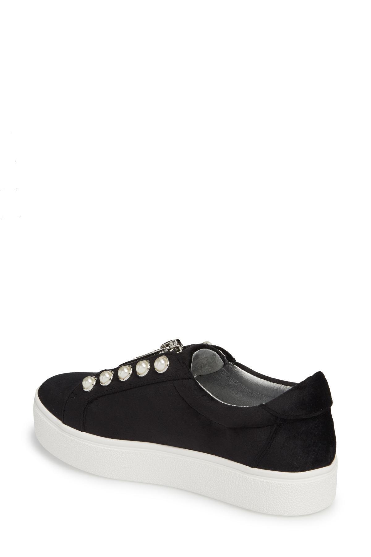 e79c4e69e63 Lyst - Steve Madden Lynn Embellished Platform Sneaker (women) in Black