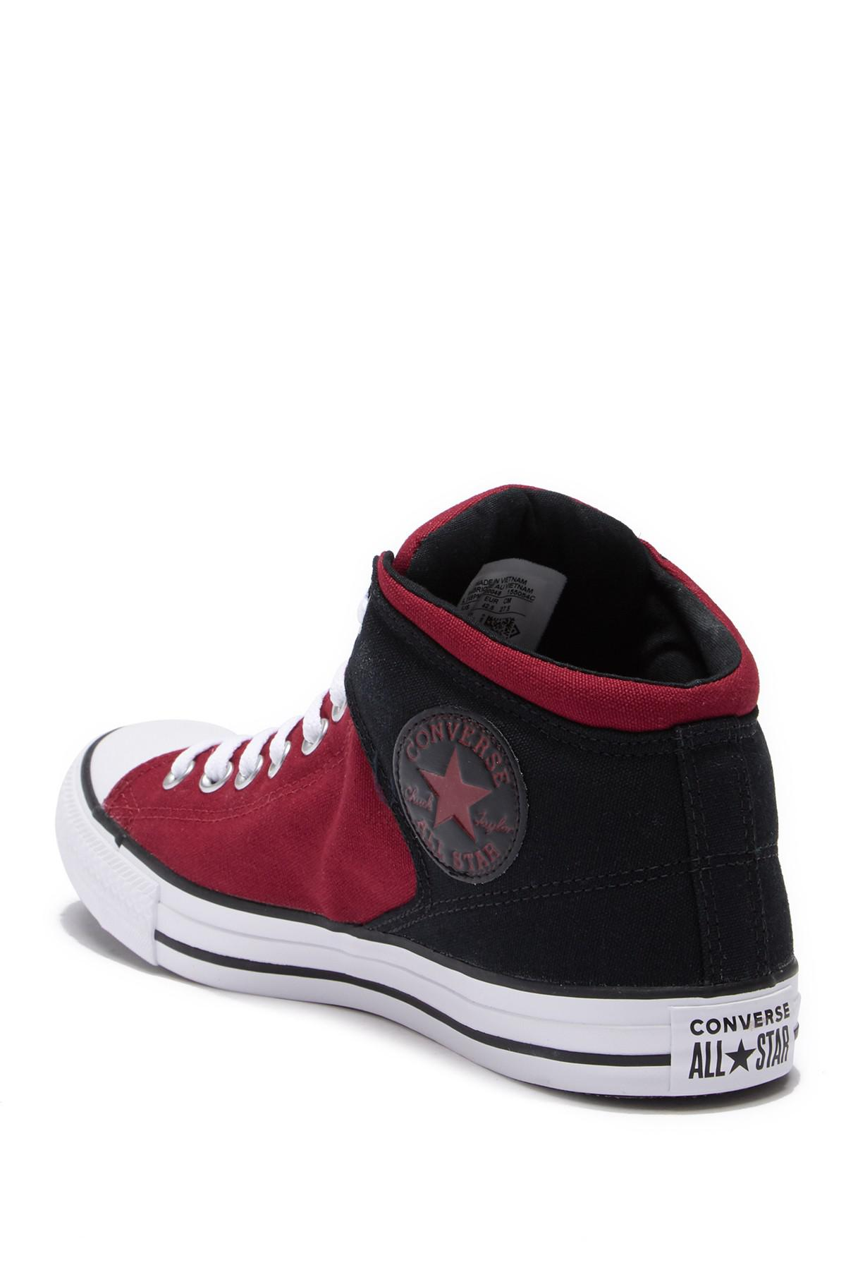 40c62026a879 Converse - Red Chuck Taylor All Star High Street Mid Sneaker (unisex) for  Men. View fullscreen