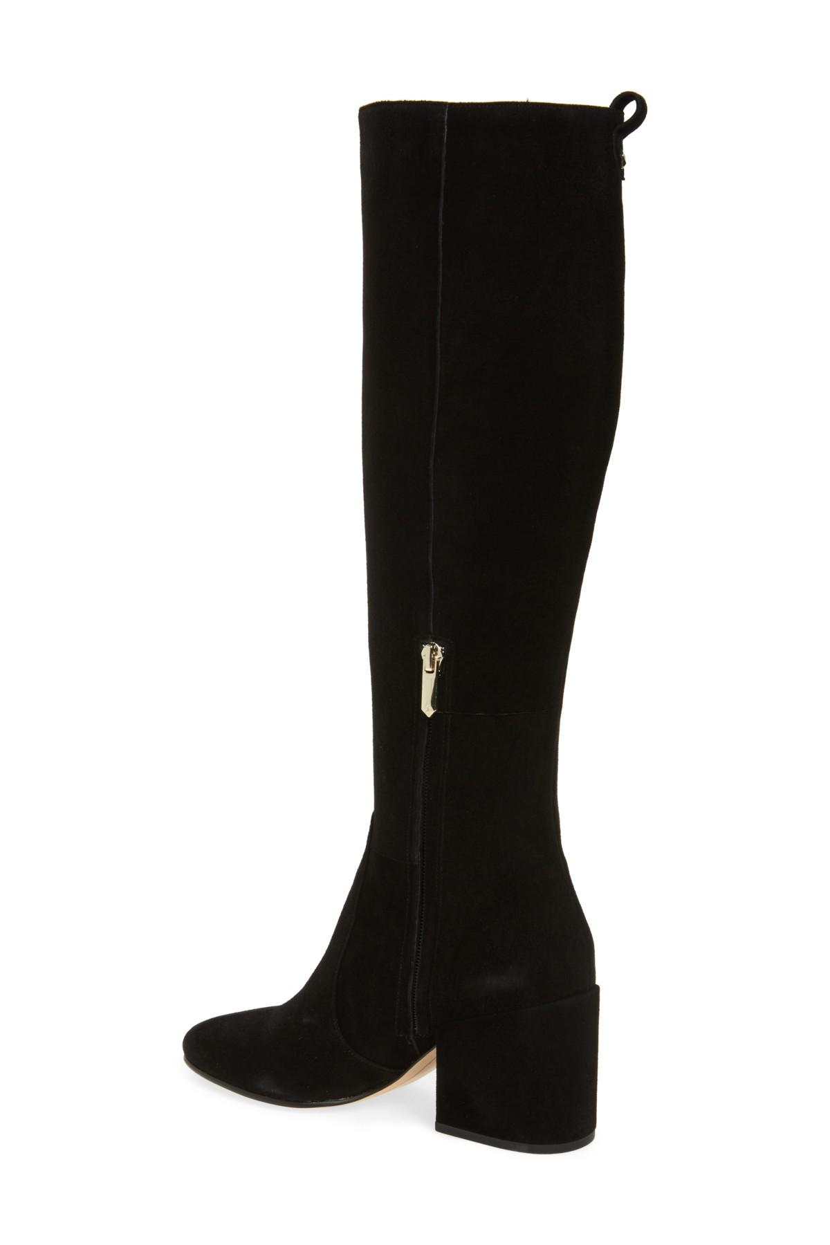e7afcad8545 Lyst - Sam Edelman Thora Knee High Boot (women) in Black