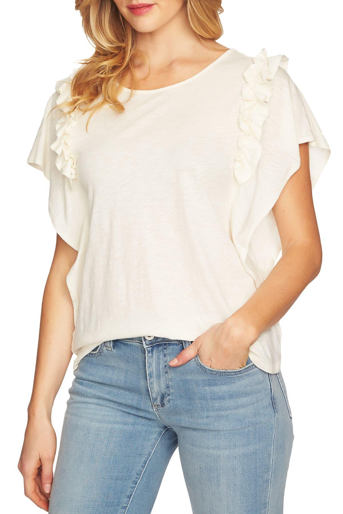 660e7f22870c1 Cece by Cynthia Steffe. Women s Ruffle Sleeve Top