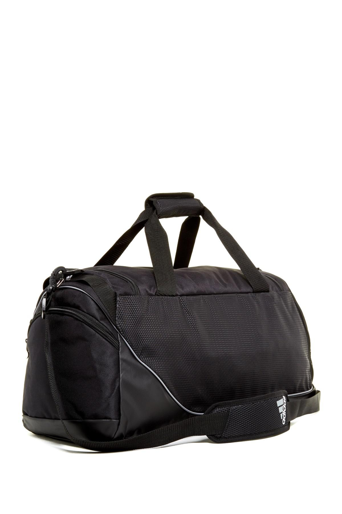 654f3979e3 Lyst - adidas Team Speed Medium Duffle Bag in Black for Men
