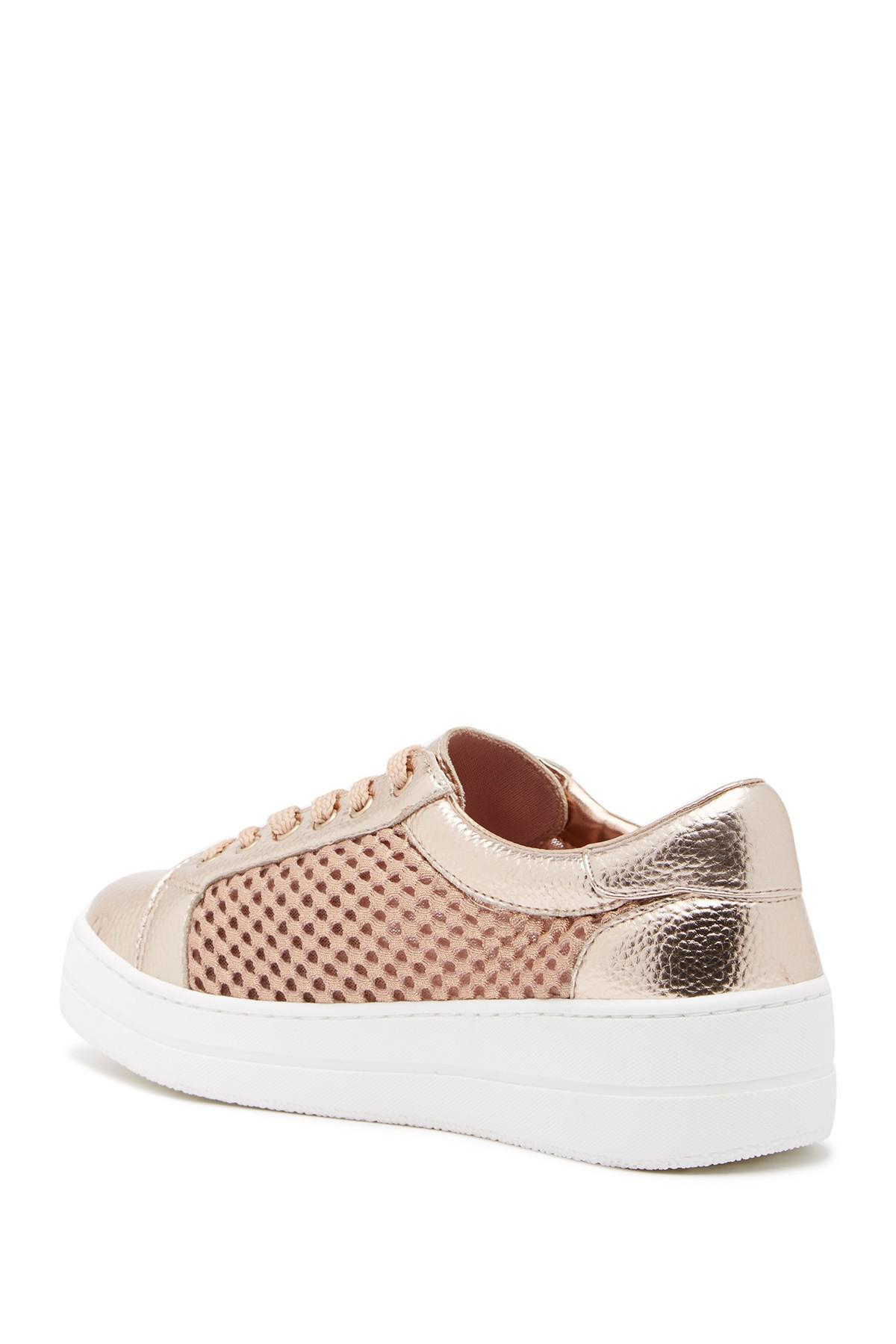 ca10b836634 Lyst - Steven by Steve Madden Napper Platform Sneaker in Pink