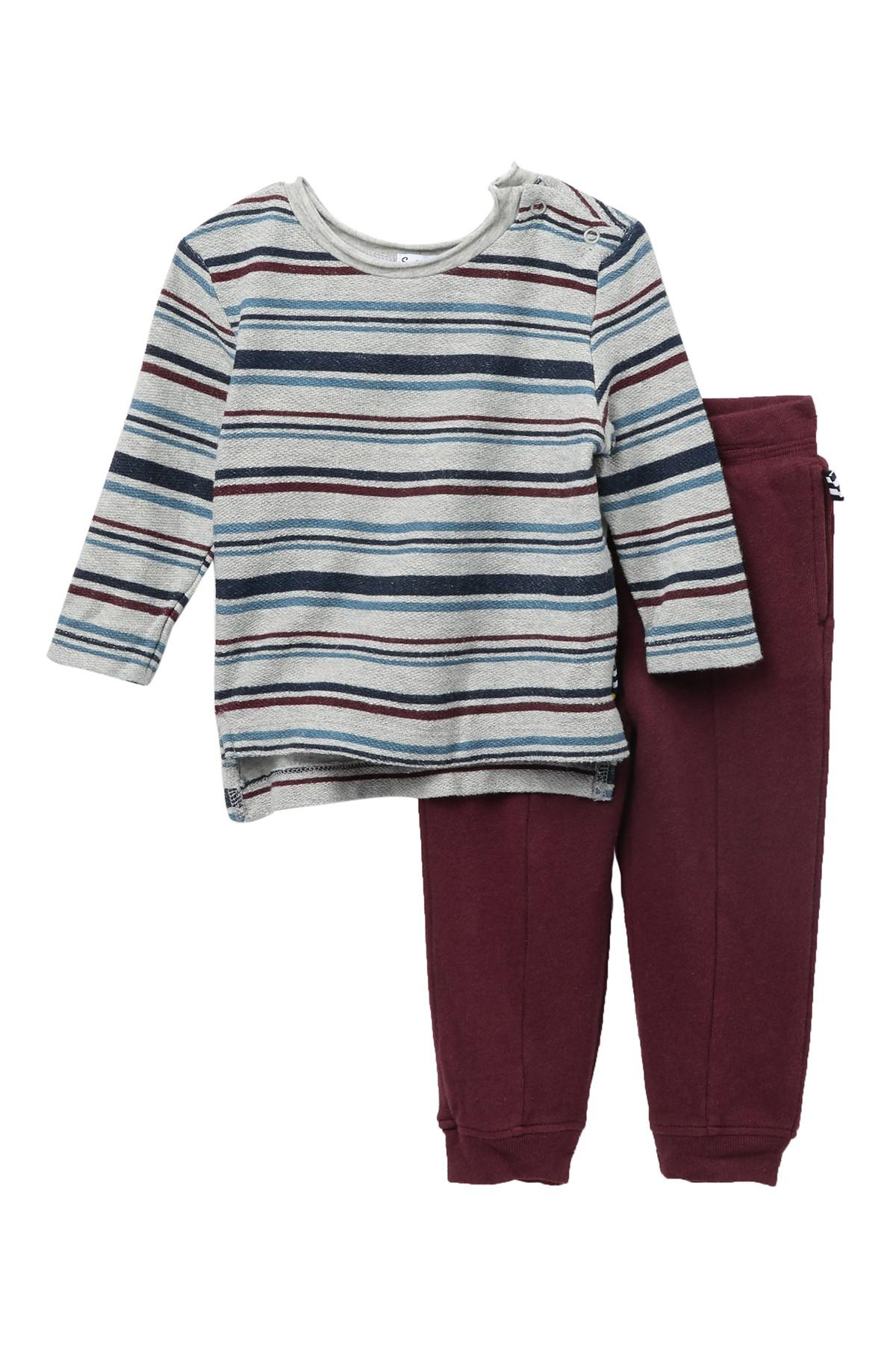 f4265f3359ab5 Lyst - Splendid Striped Top & Pants Set (baby Boys) for Men