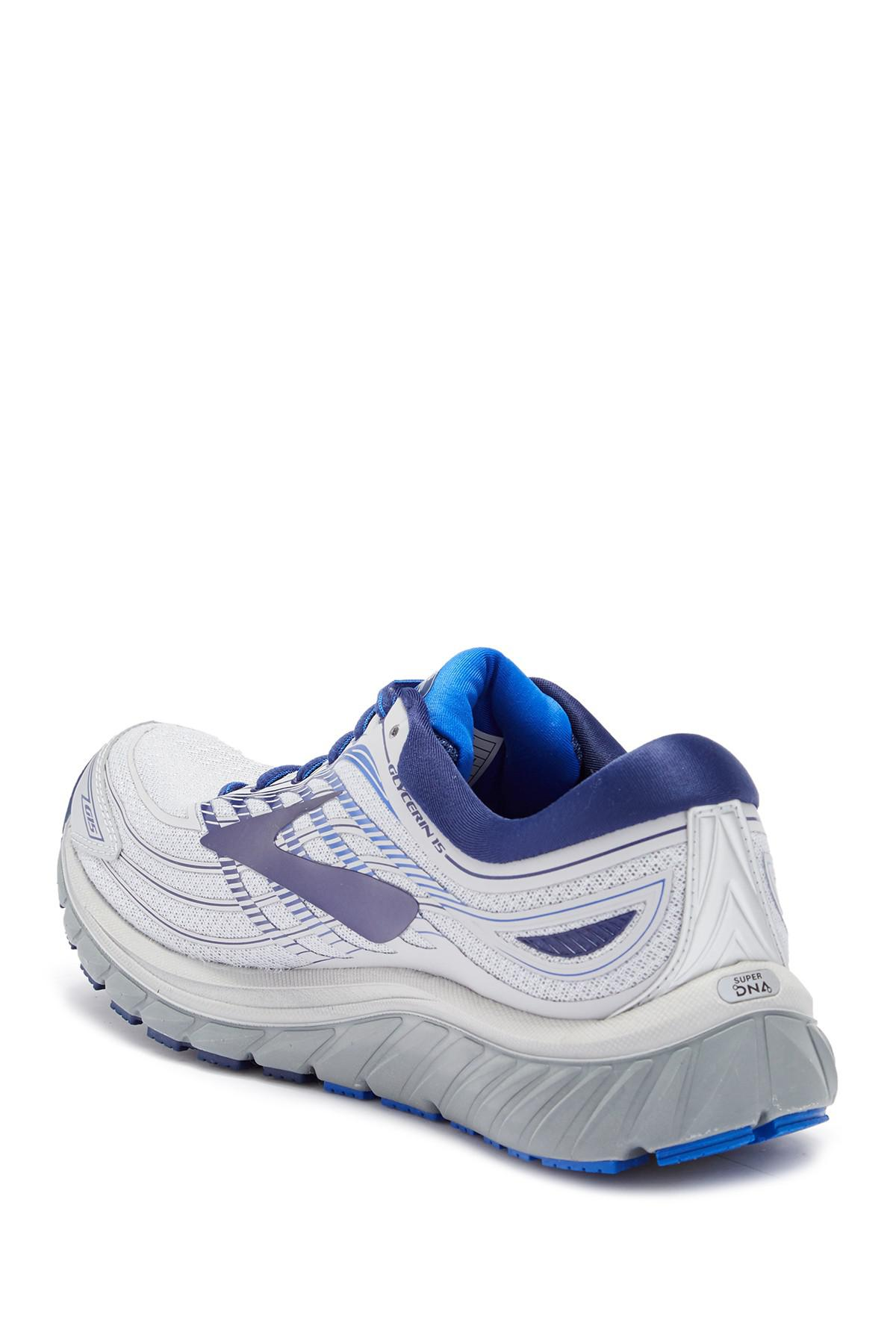 edb5297fedb77 Brooks - Blue Glycerin 15 Running Sneaker for Men - Lyst. View fullscreen