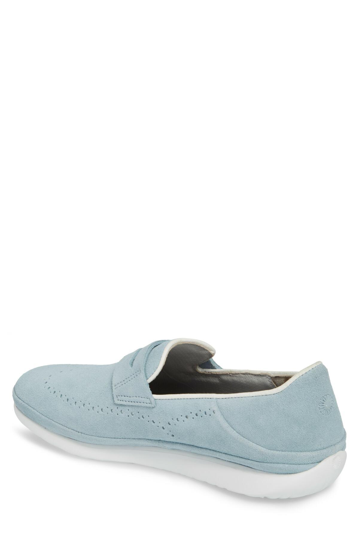 0639412e561 Lyst - UGG (r) Cali Collapsible Wingtip Penny Loafer (men) in Blue ...