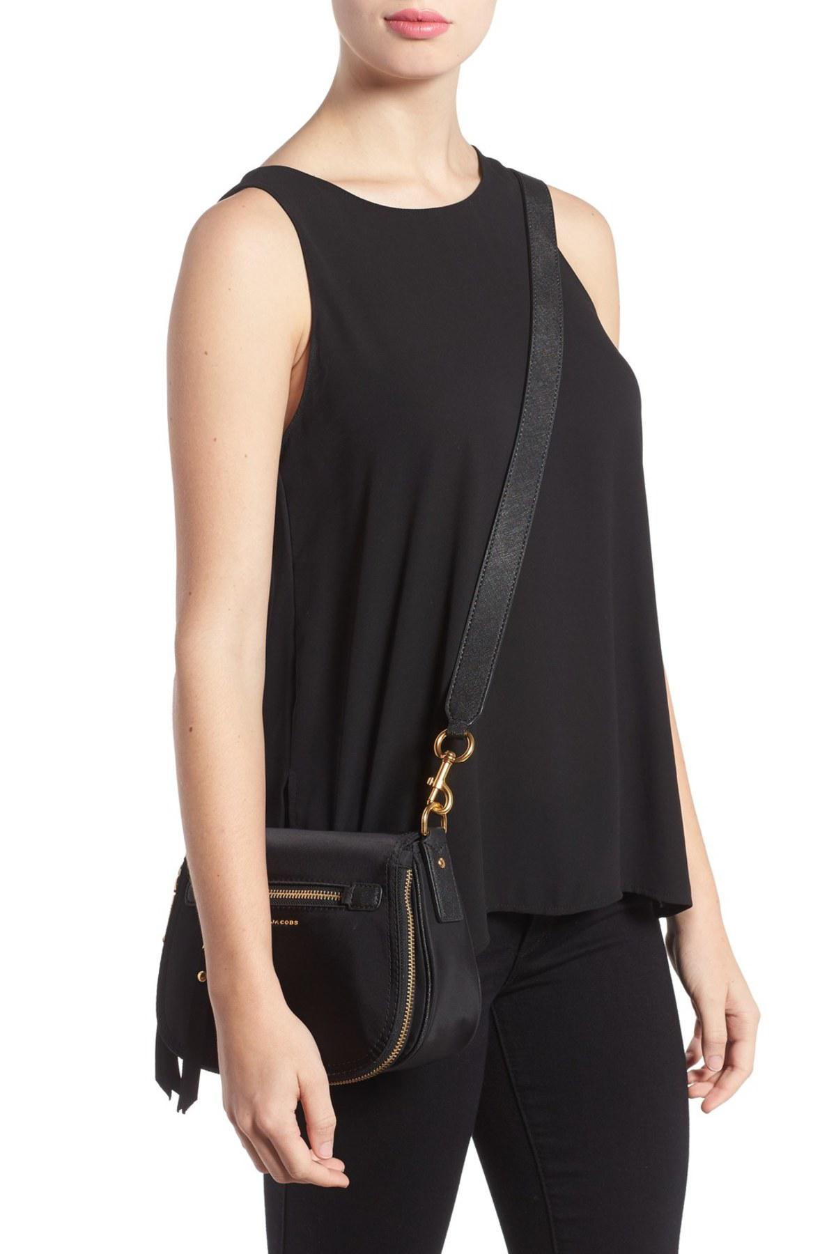 527ecbb08c95 Lyst - Marc Jacobs Trooper - Small Nomad Nylon Crossbody Bag in Black