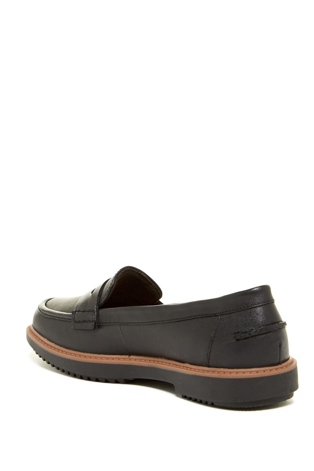 9707a4ae147 Lyst - Clarks Raisie Eletta Loafer - Wide Width Available in Black