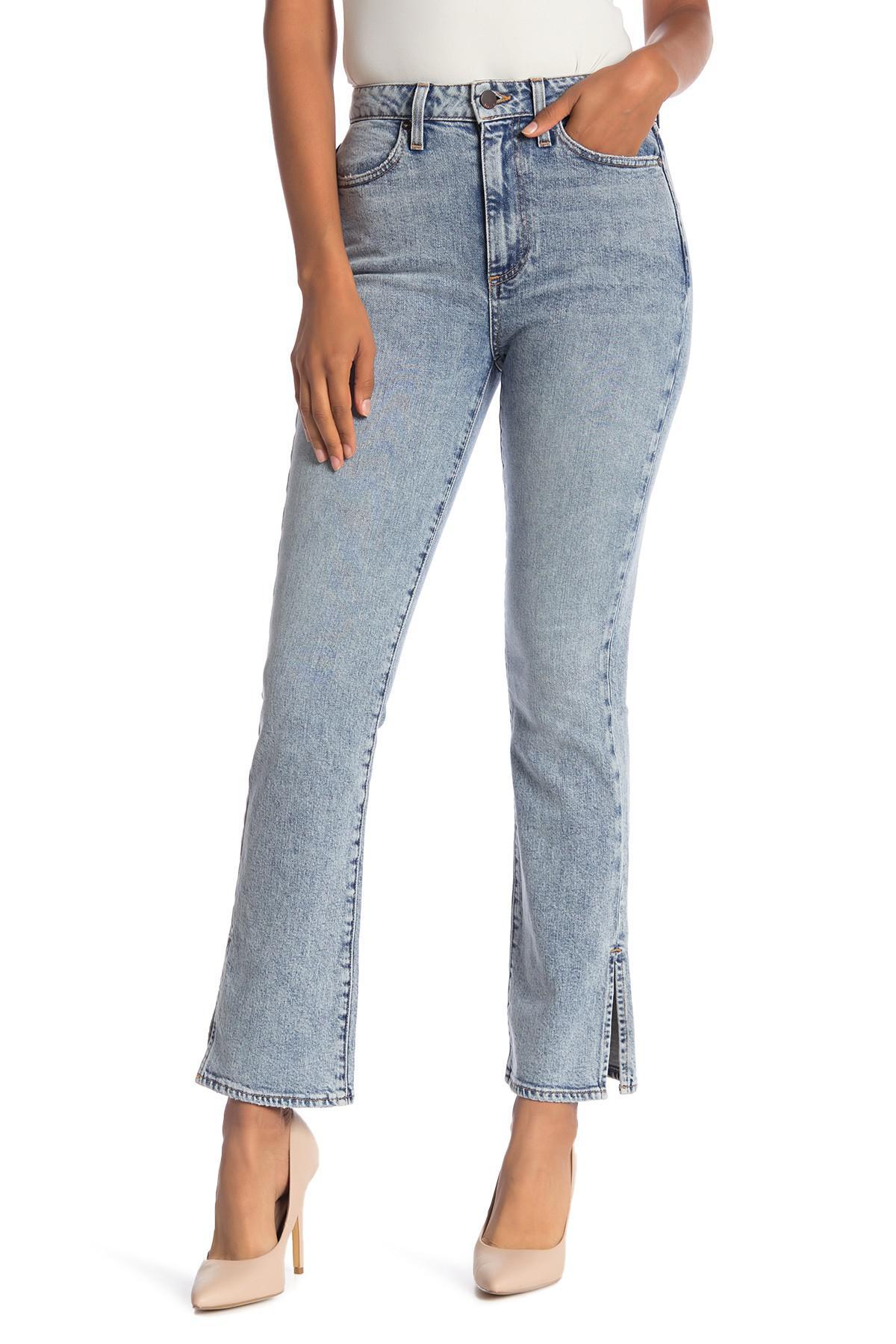 f120208515ac Alice + Olivia Ao.la Fabulous High Waist Baby Bootcut Jeans (rebel ...