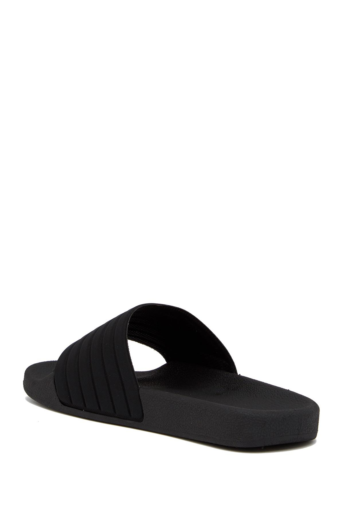 607ae848a035 Lyst - Guess Ignite Slider Sandal in Black for Men - Save 17%