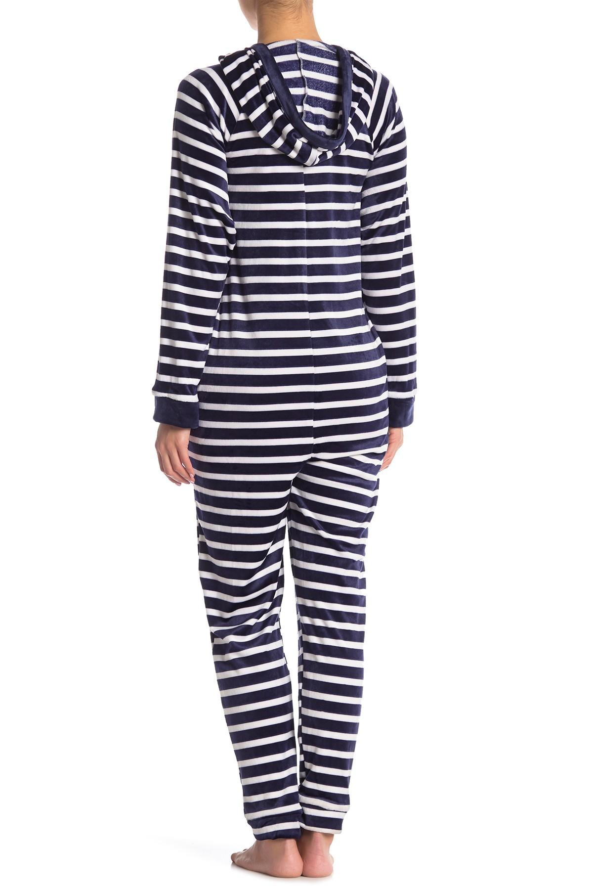 ece760ba3612 Lyst - Room Service Hooded Jumpsuit (nordstrom Exclusive) in Blue ...