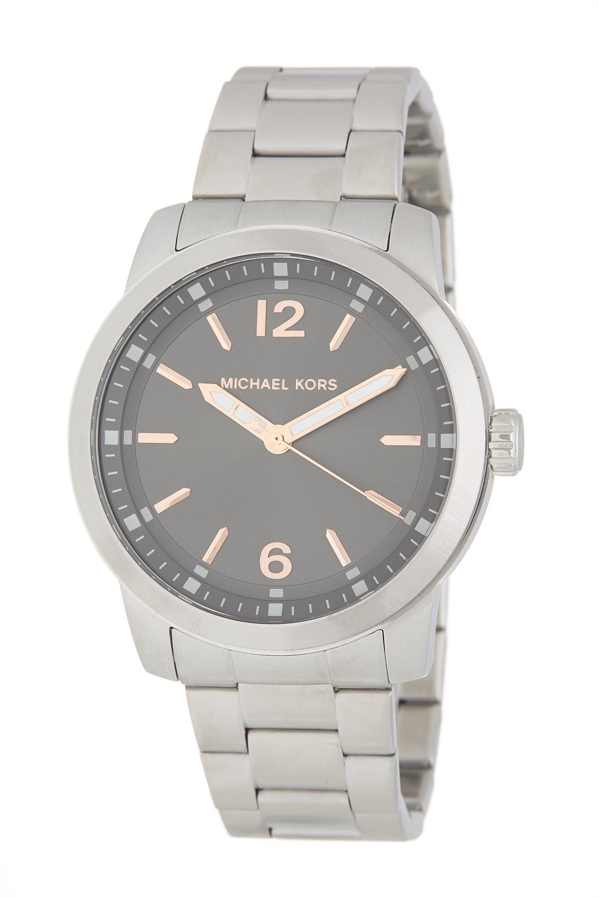 706c884e0 MICHAEL Michael Kors - Metallic Men's Vonn 3-hand Bracelet Watch, 44mm for  Men