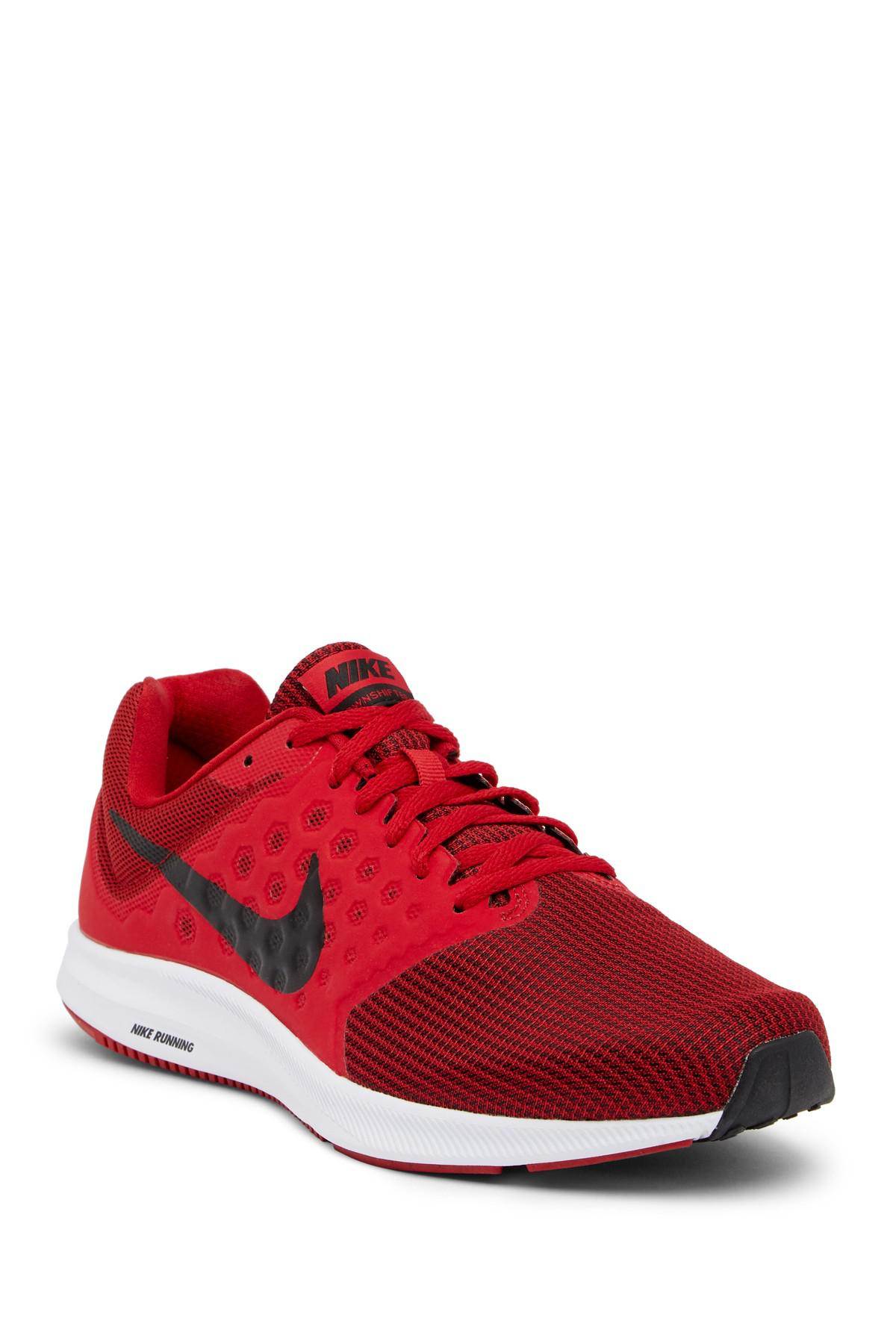 380e0e44b9 Lyst - Nike Downshifter 7 Sneaker in Red for Men