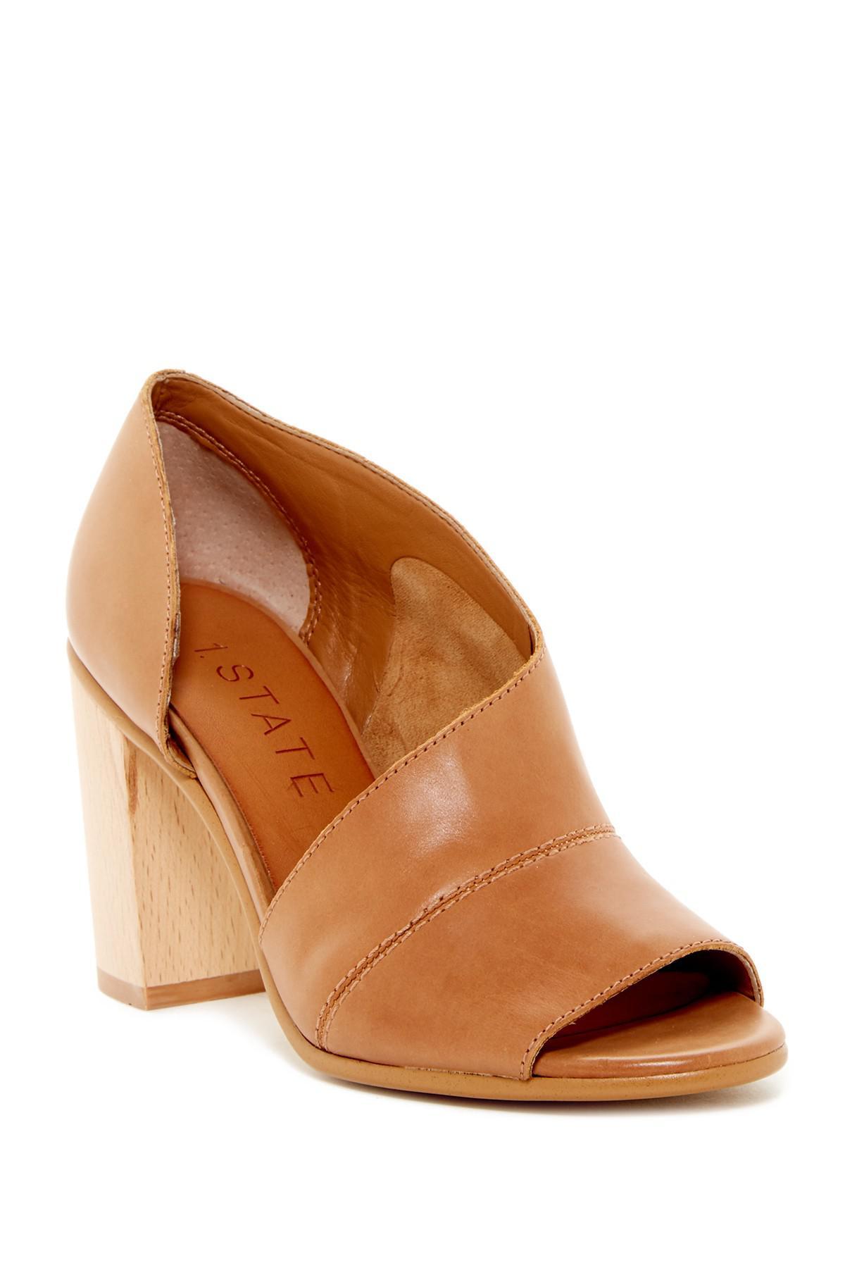 1.State Amble Block Heel Sandal US6ysvyx
