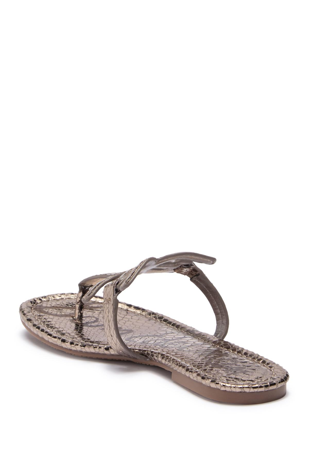 ff90e9b3a4e Sam Edelman - Multicolor Carter Thong (women) - Lyst. View fullscreen
