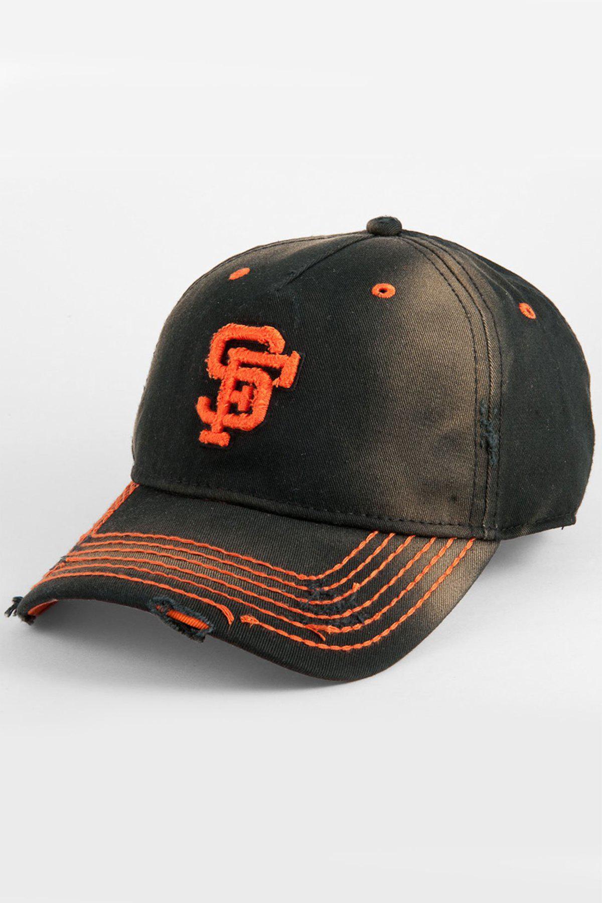 77ad50a479b Lyst - American Needle San Francisco Giants Baseball Cap in Black ...