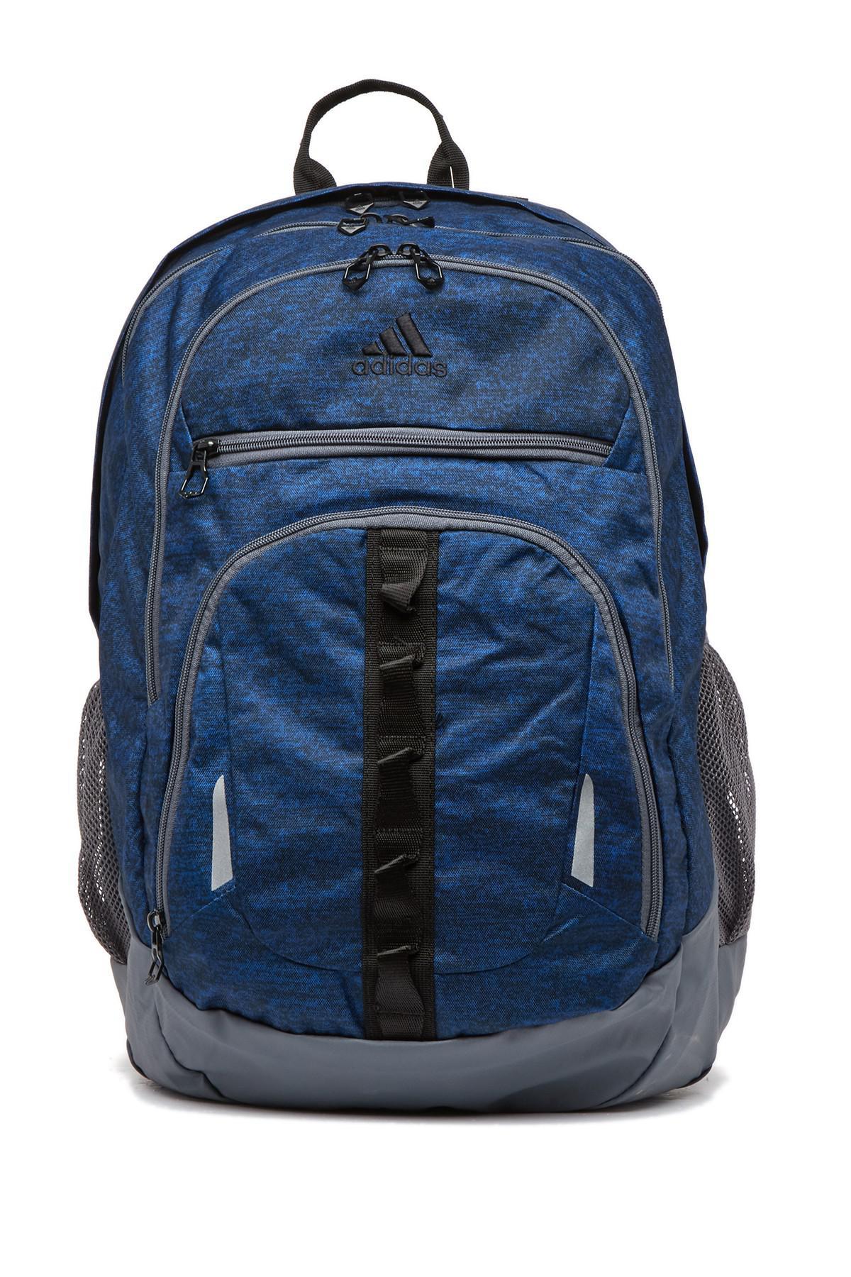 069e72d34ffe Adidas - Blue Prime Iv Backpack for Men - Lyst. View fullscreen