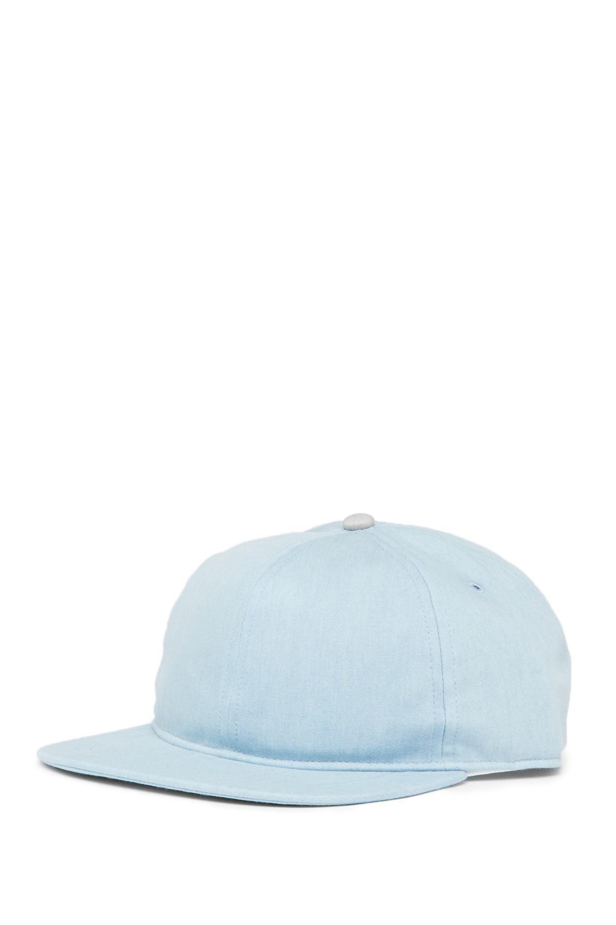 Lyst - Saturdays NYC Stanley Buckle Hat in Blue for Men 61c16dd39