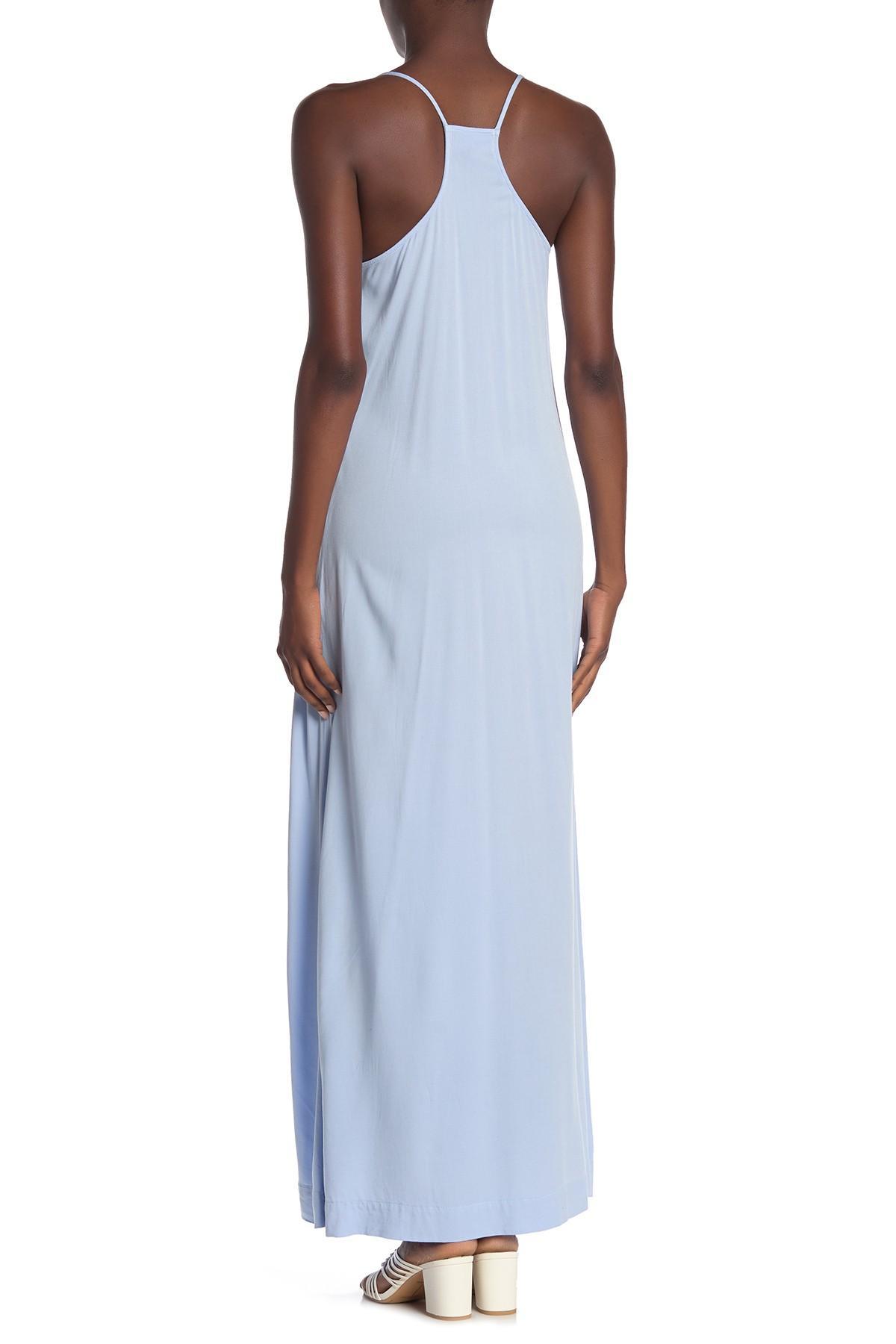 4339ca6628c Michael Stars - Blue Babydoll Maxi Dress - Lyst. View fullscreen