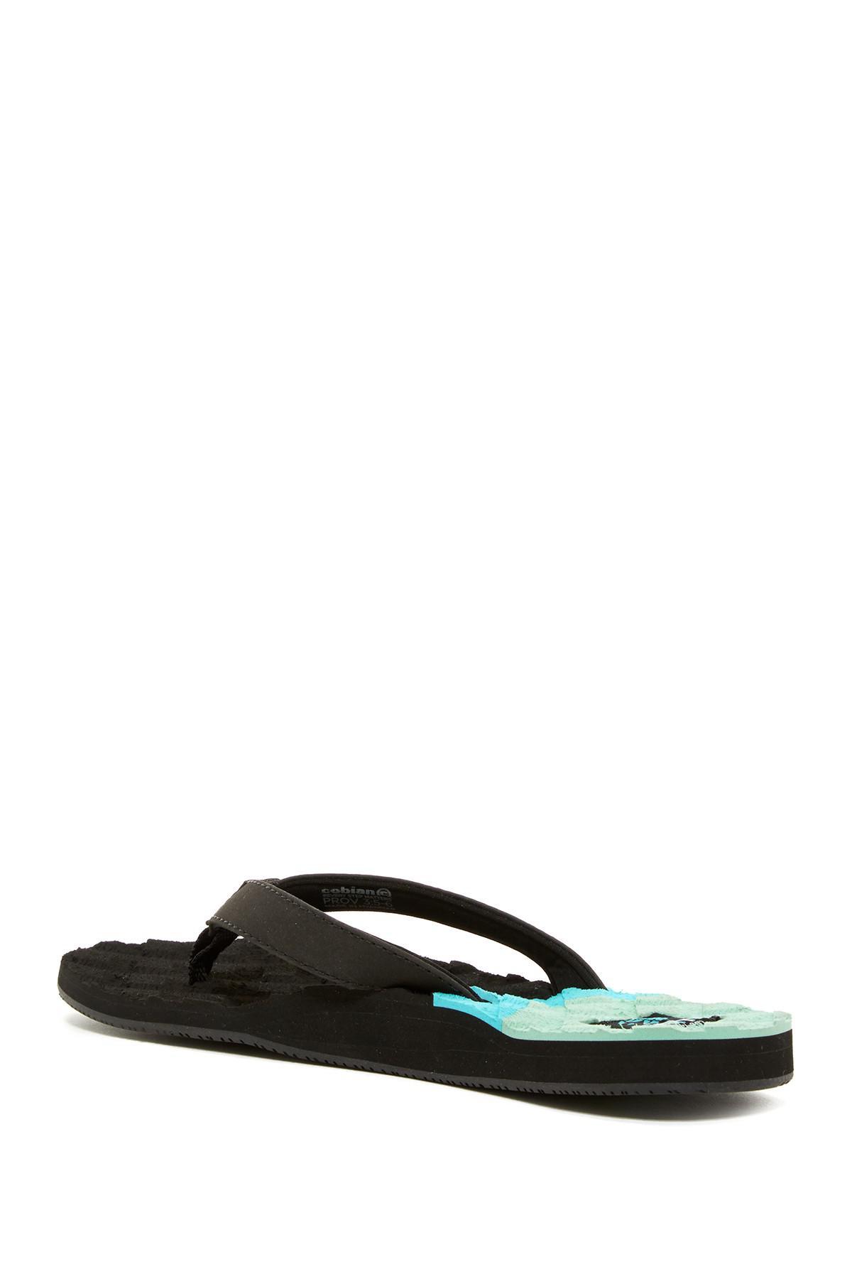 a37f68a66 Lyst - Cobian Foam Flip Flop Sandal (women) in Black