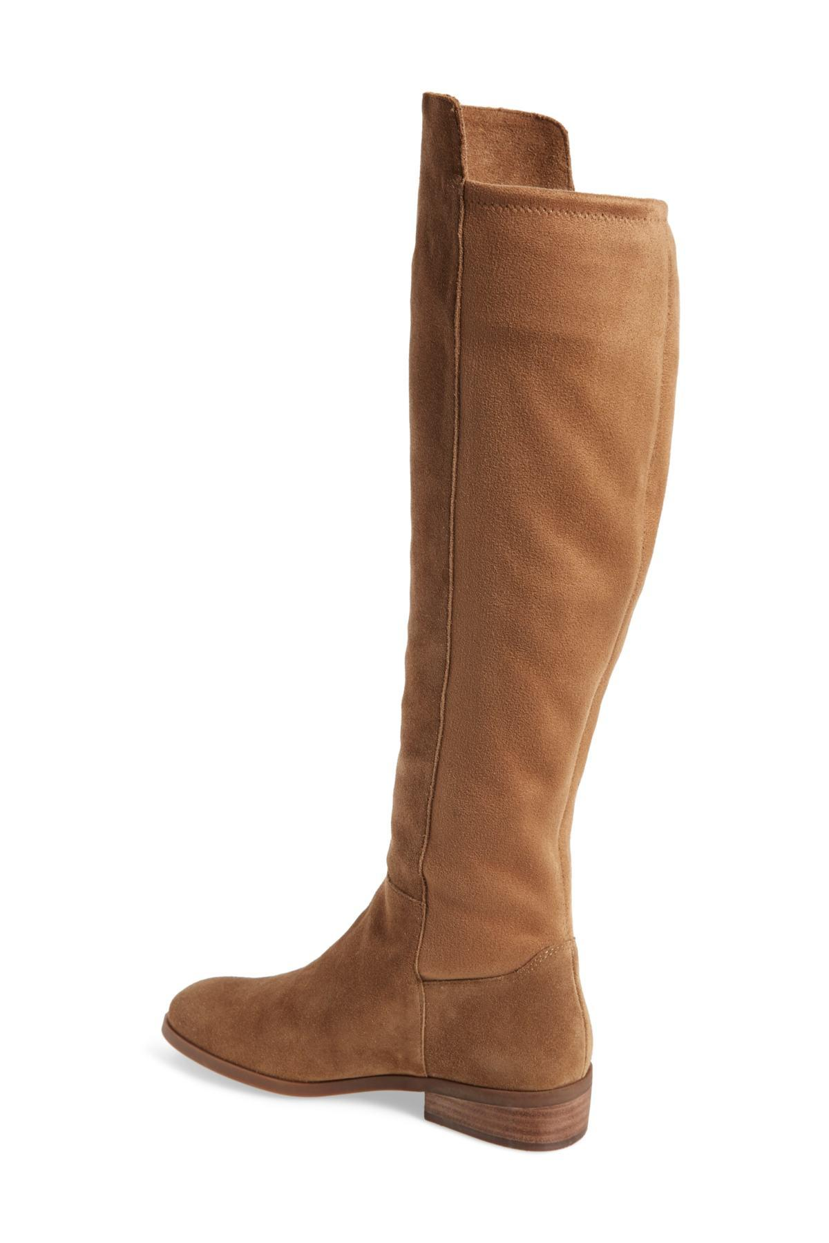 00235c851e61 Sole Society - Brown Calypso Over The Knee Boot (women) - Lyst. View  fullscreen