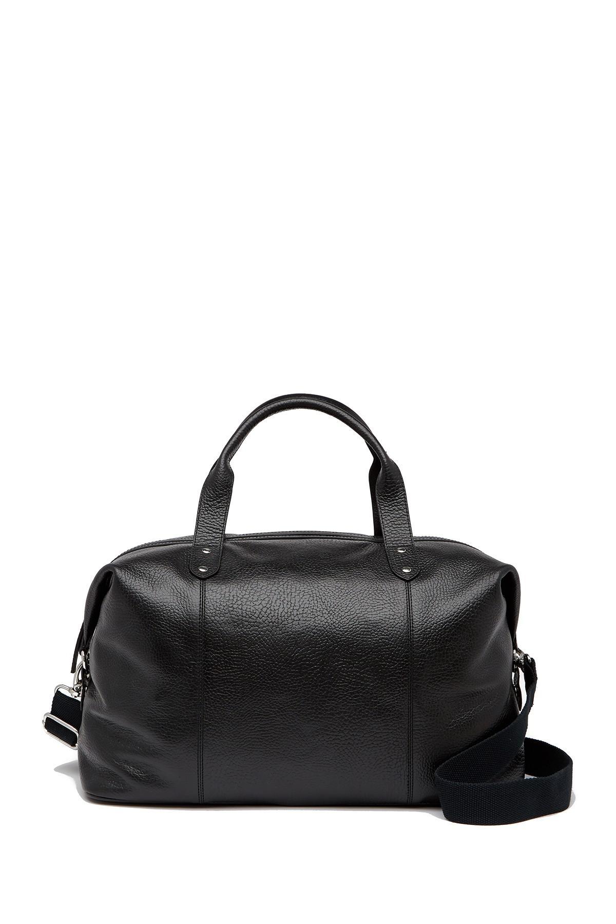 Lyst - Cole Haan Saunders Leather Duffel Bag in Black for Men b77daffbecc45