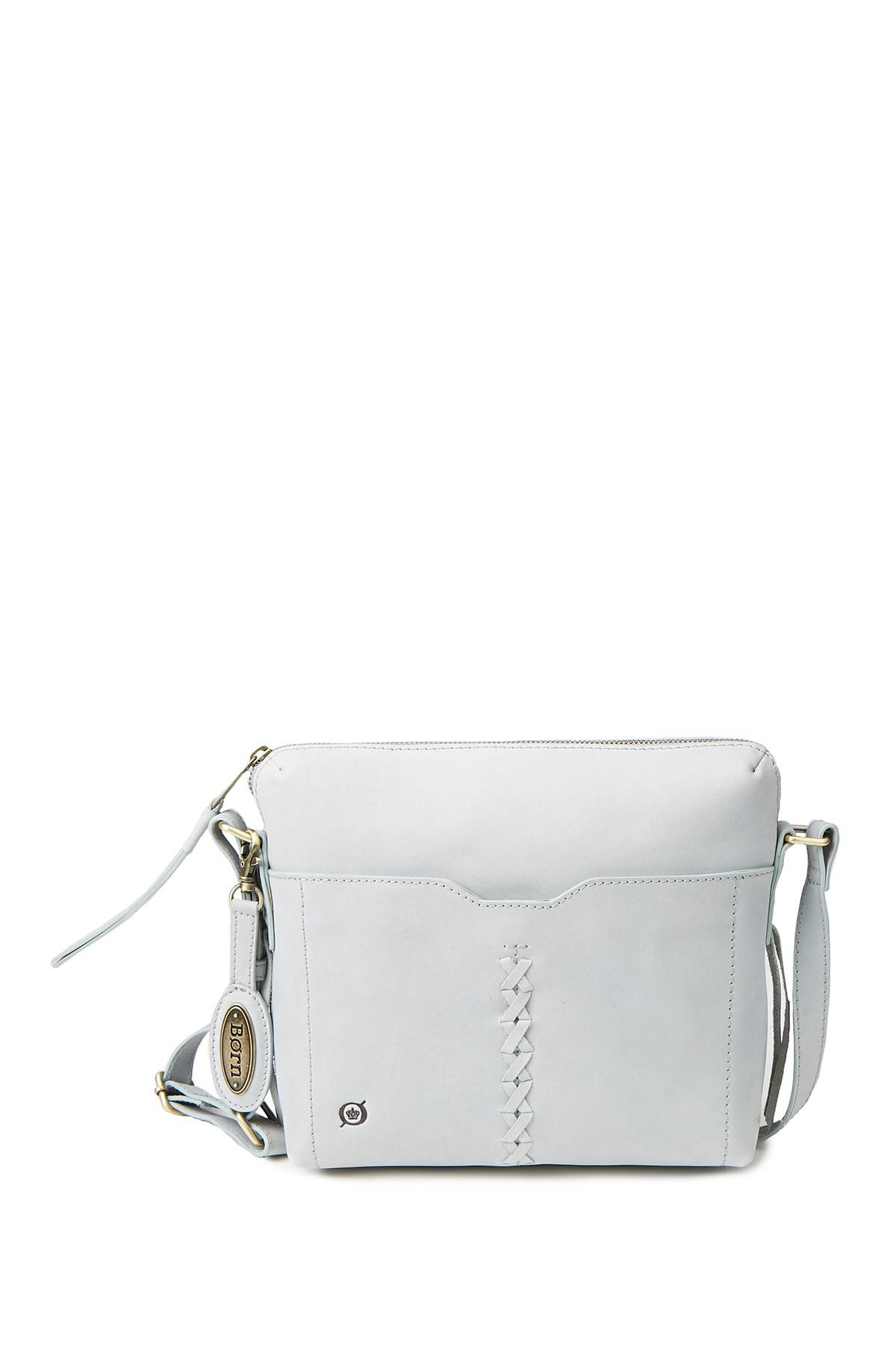 Lyst - Born Wylie Leather Crossbody Bag 08e1c8851f56d