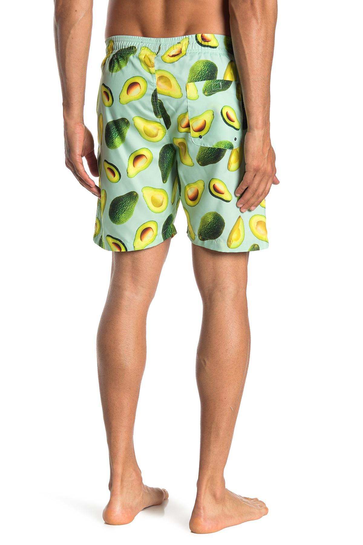 d591585e67 The Narrows - Green Avocado Volley Swim Shorts for Men - Lyst. View  fullscreen