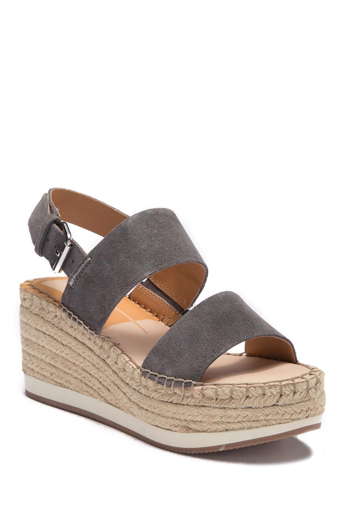 5342e16698f6 Dolce Vita. Women s Maggie Platform Espadrille Wedge Sandal